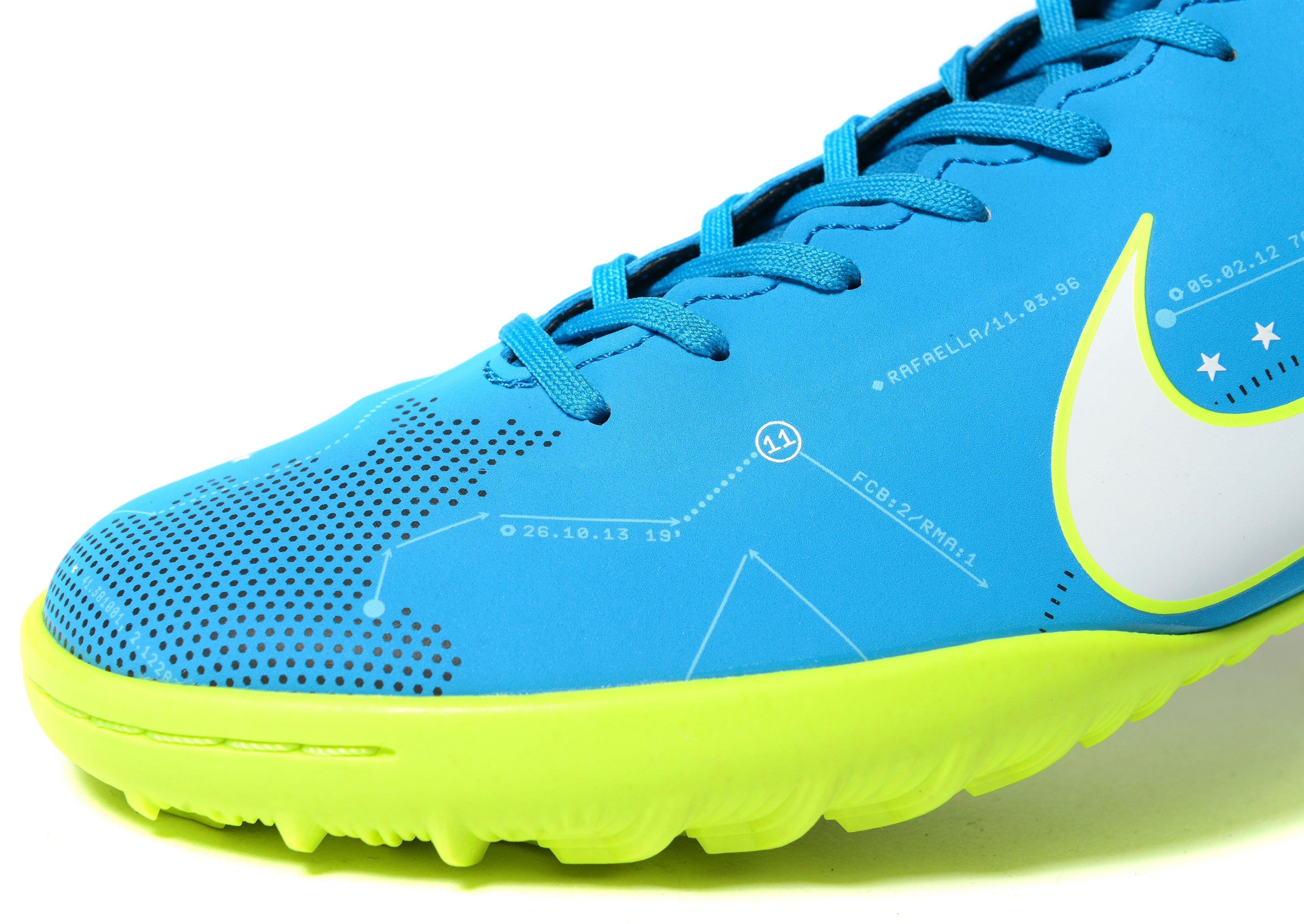 Nike Synthetic Mercurial Victory Dynamic Fit Neymar Turf in Blue/Green (Blue) for Men