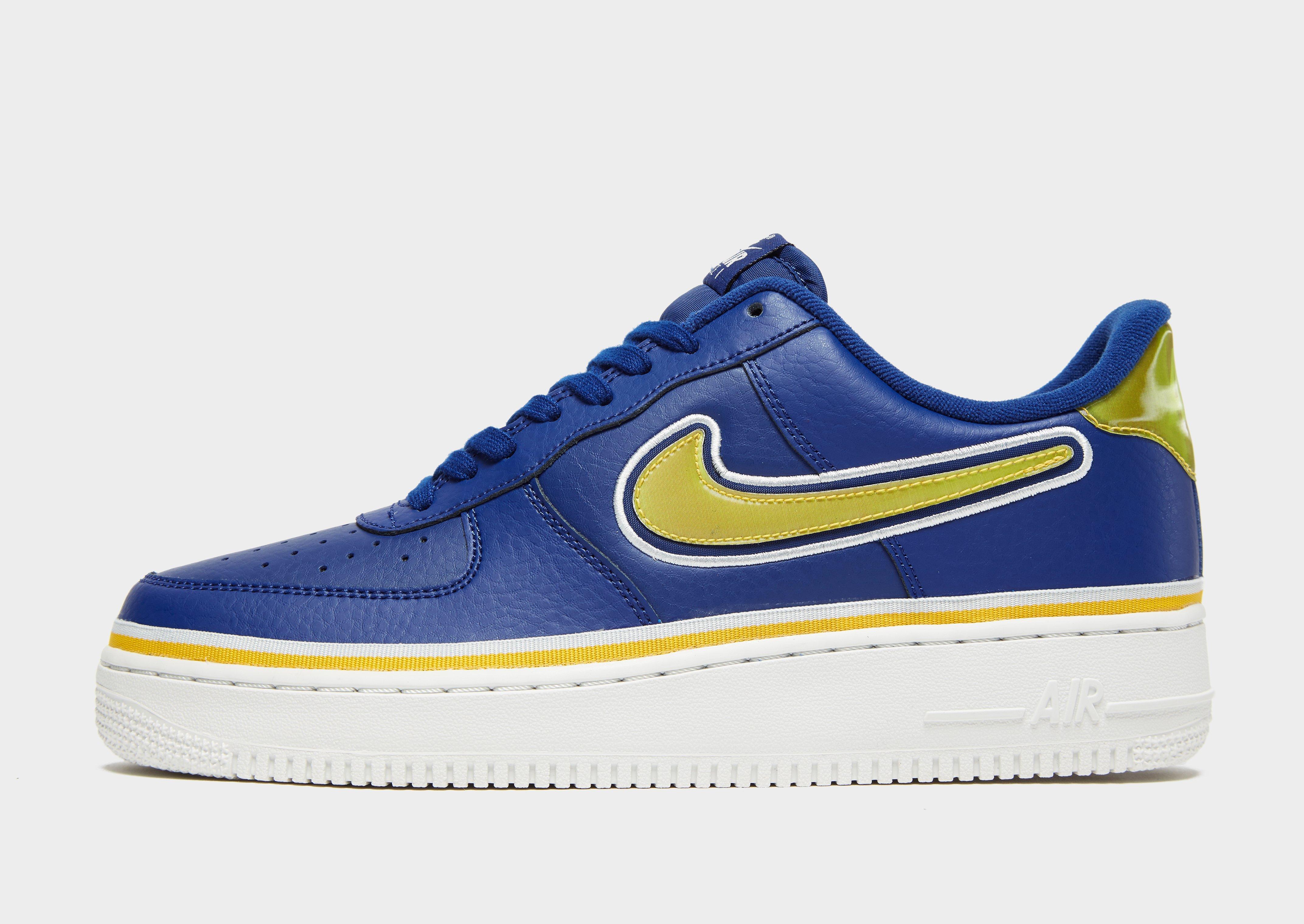 Nike Air 'nba' For Force Low Blue Men '07 1 Lv8 dtxoQshrCB