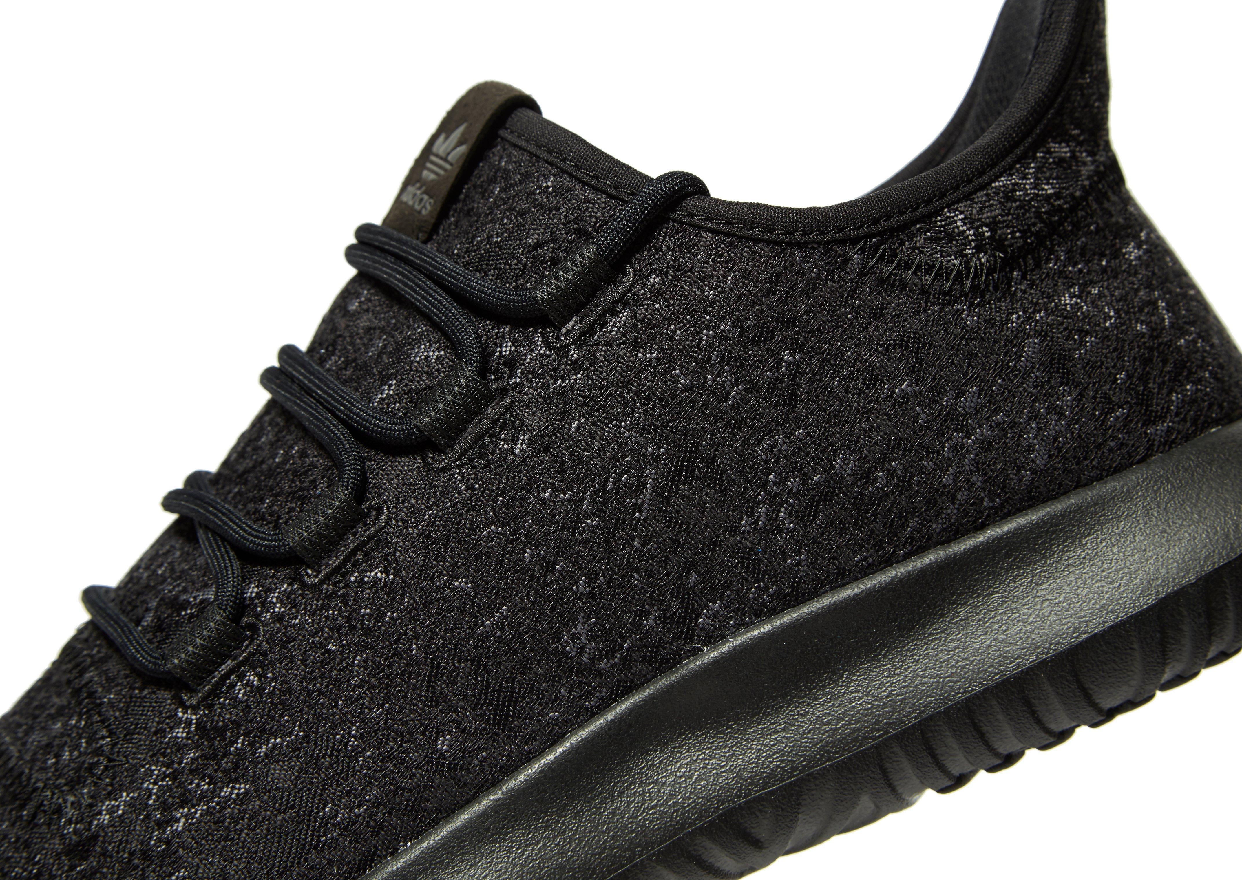 adidas Originals Neoprene Tubular Shadow Jacquard in Black/Grey ...
