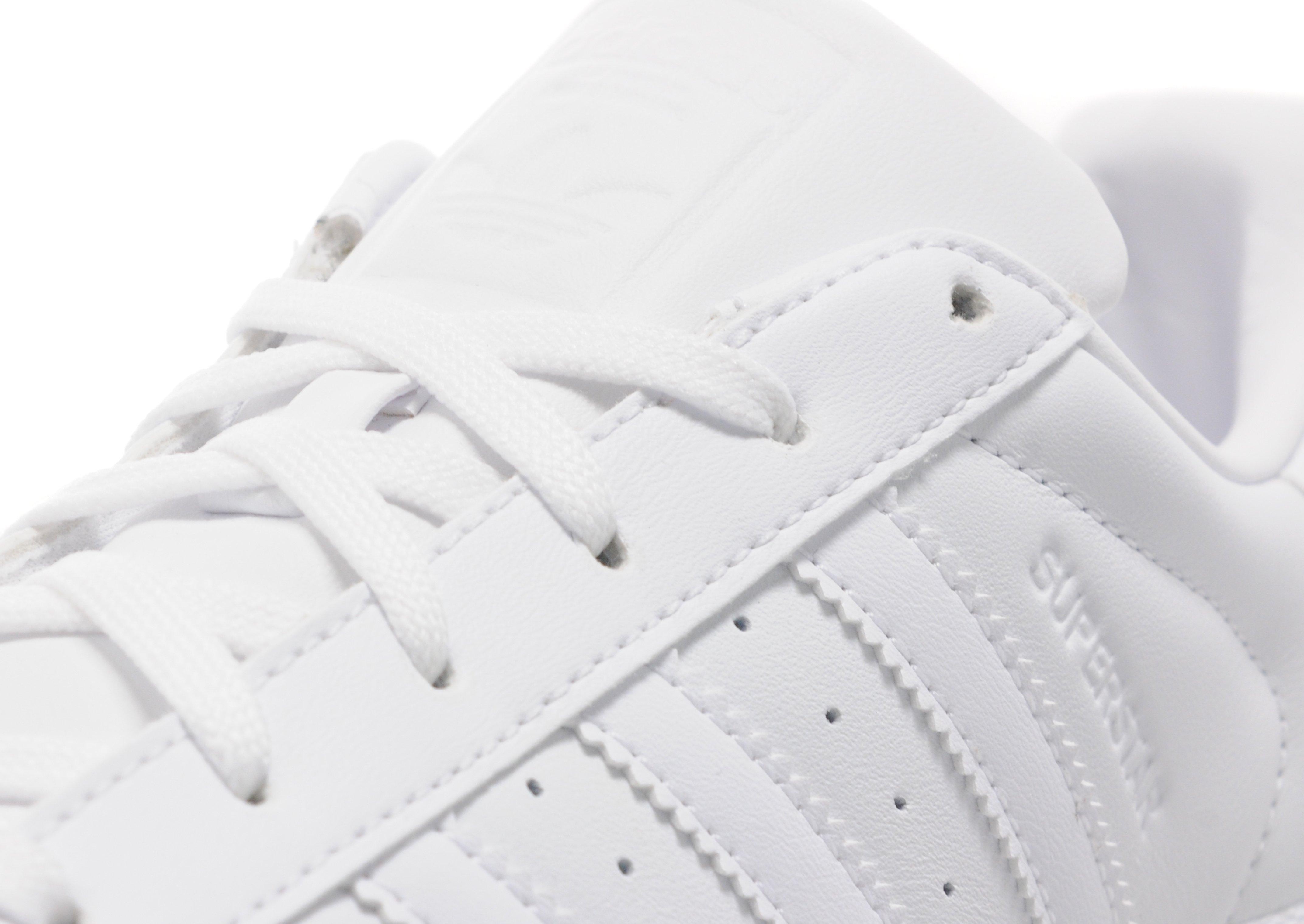 9b99085c536 Lyst - adidas Originals Superstar Gloss in White