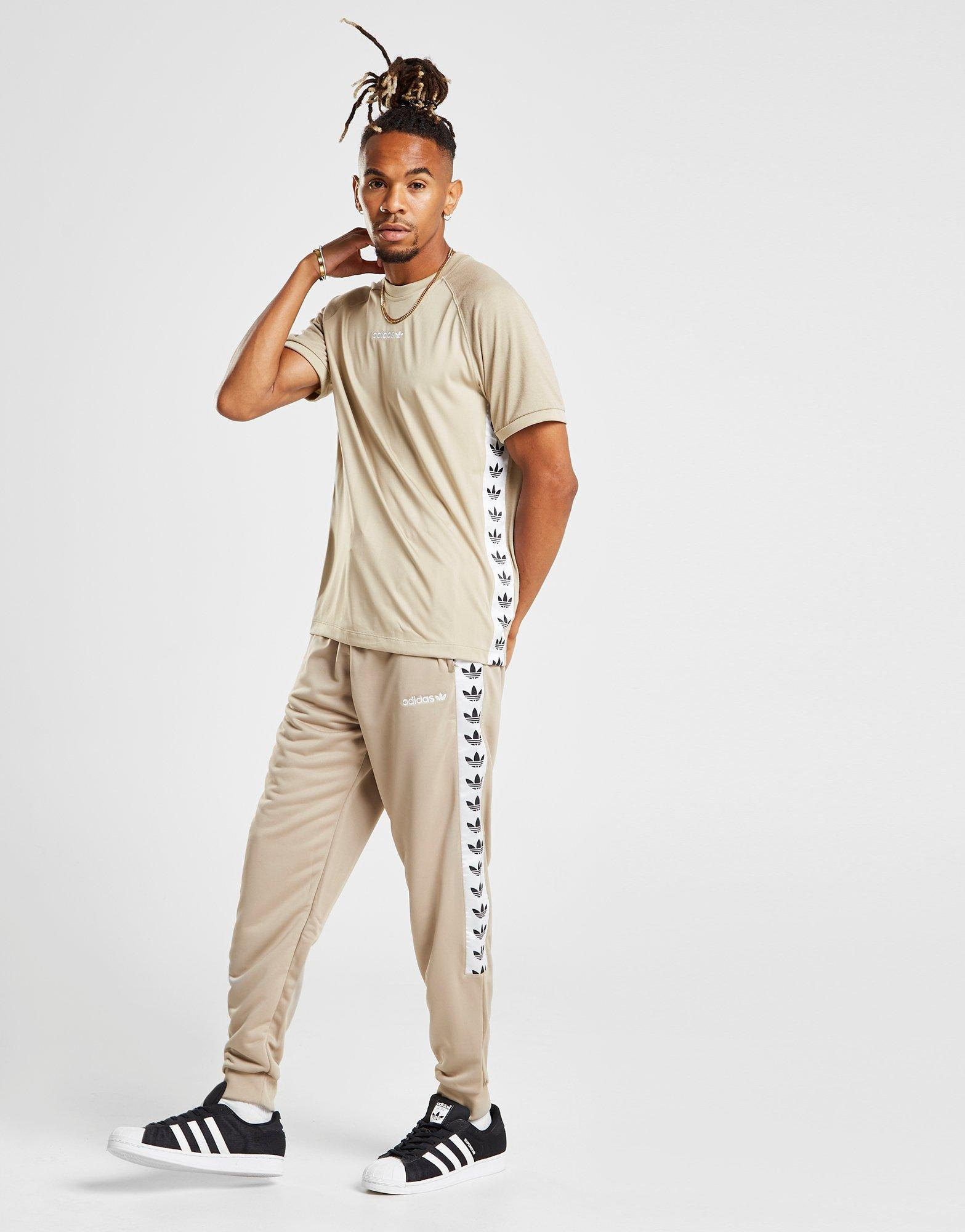 adidas Originals Synthetic Tape Poly Track Pants for Men Lyst