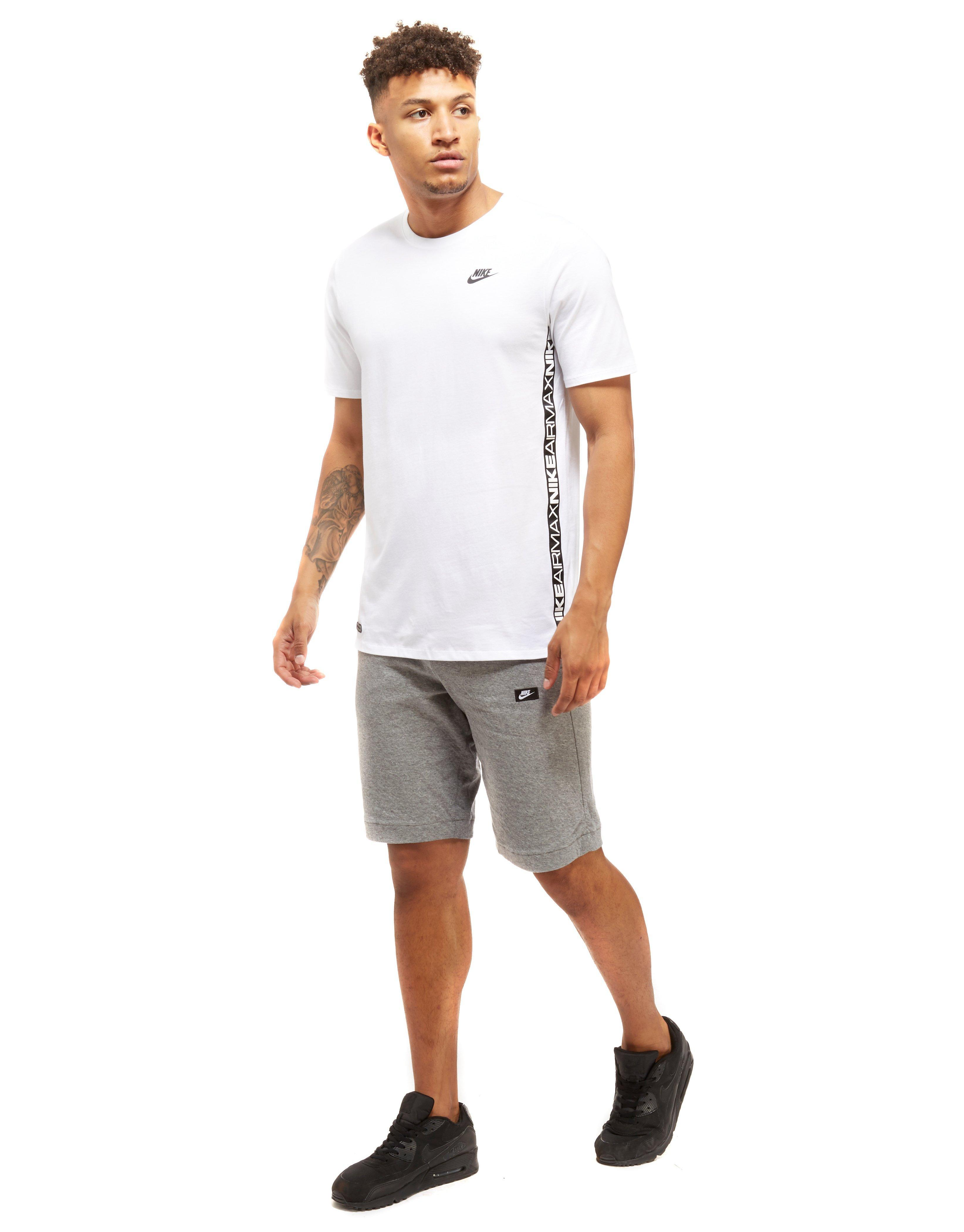 Nike Cotton Air Max Tape T shirt in White for Men Lyst