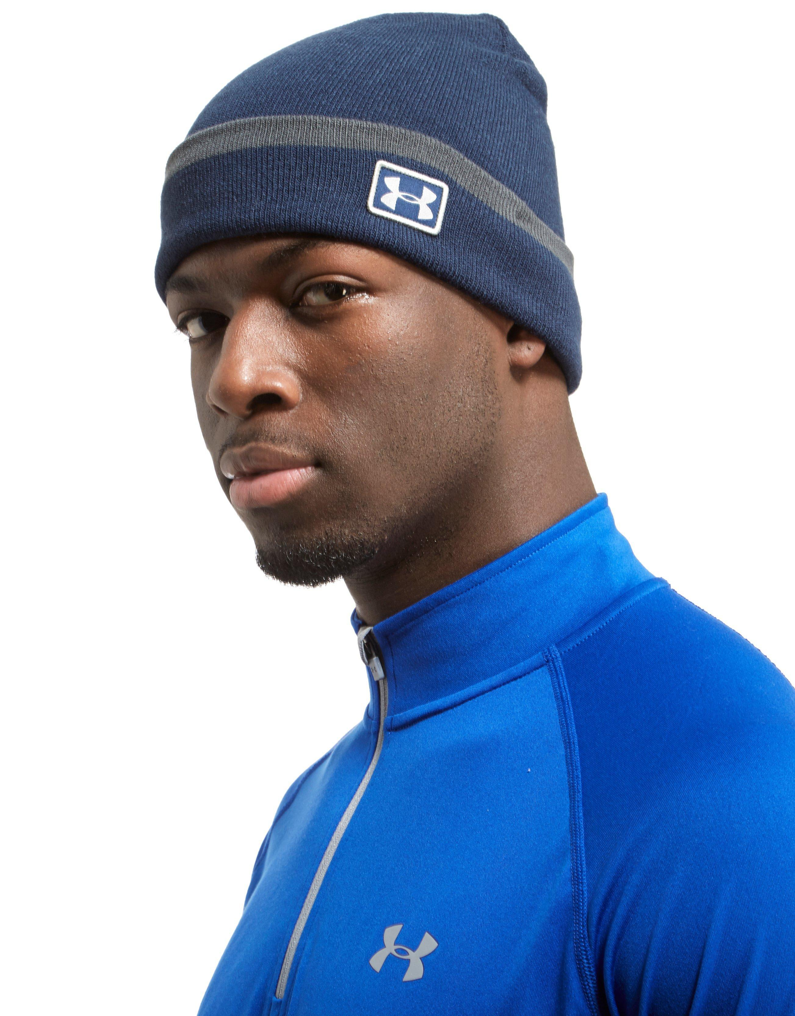 49435ccea16 Lyst - Under Armour Coldgear Infrared Cuff Sideline Beanie Hat in ...