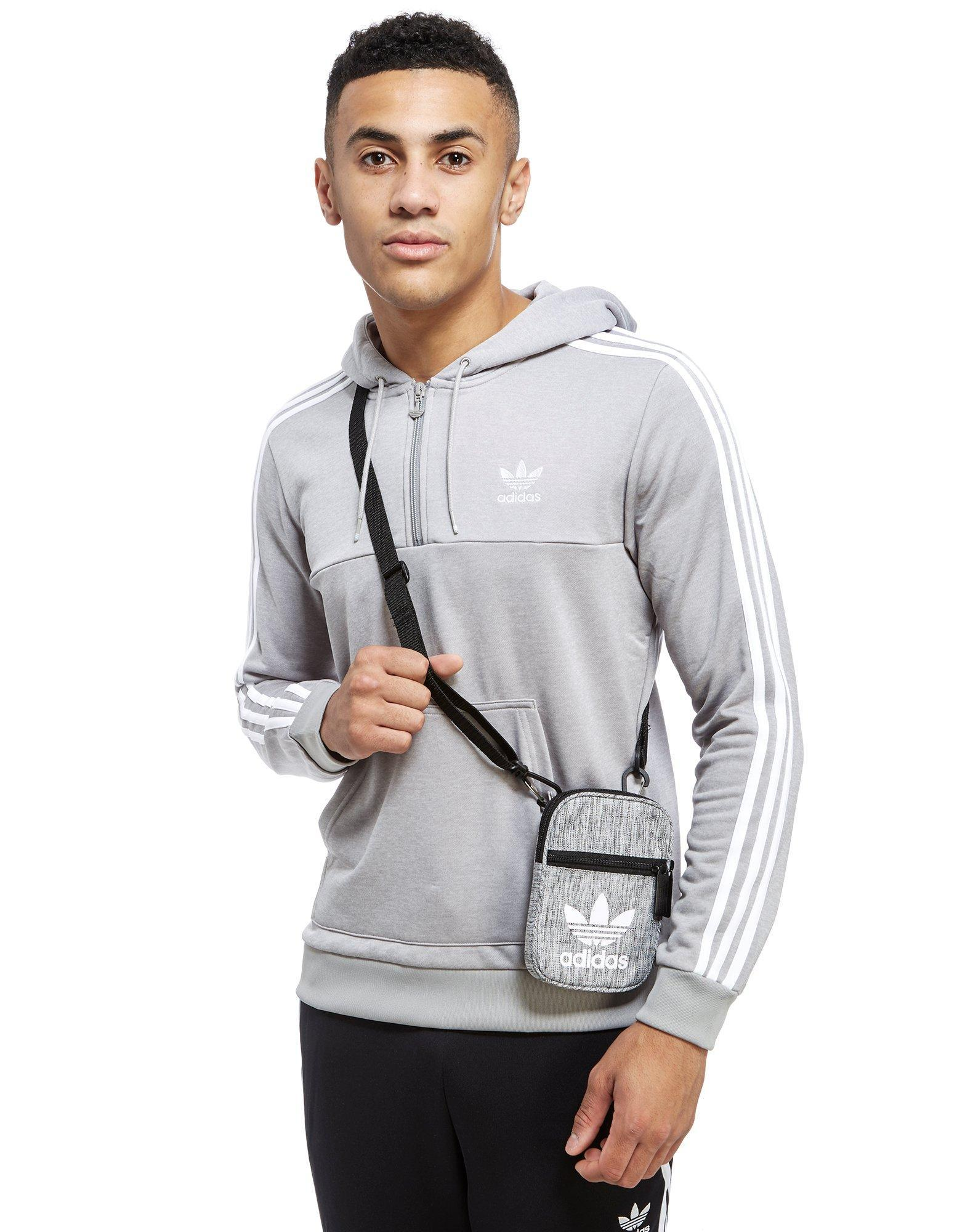 d187595d5c Lyst - adidas Originals Trefoil Festival Bag in Gray for Men