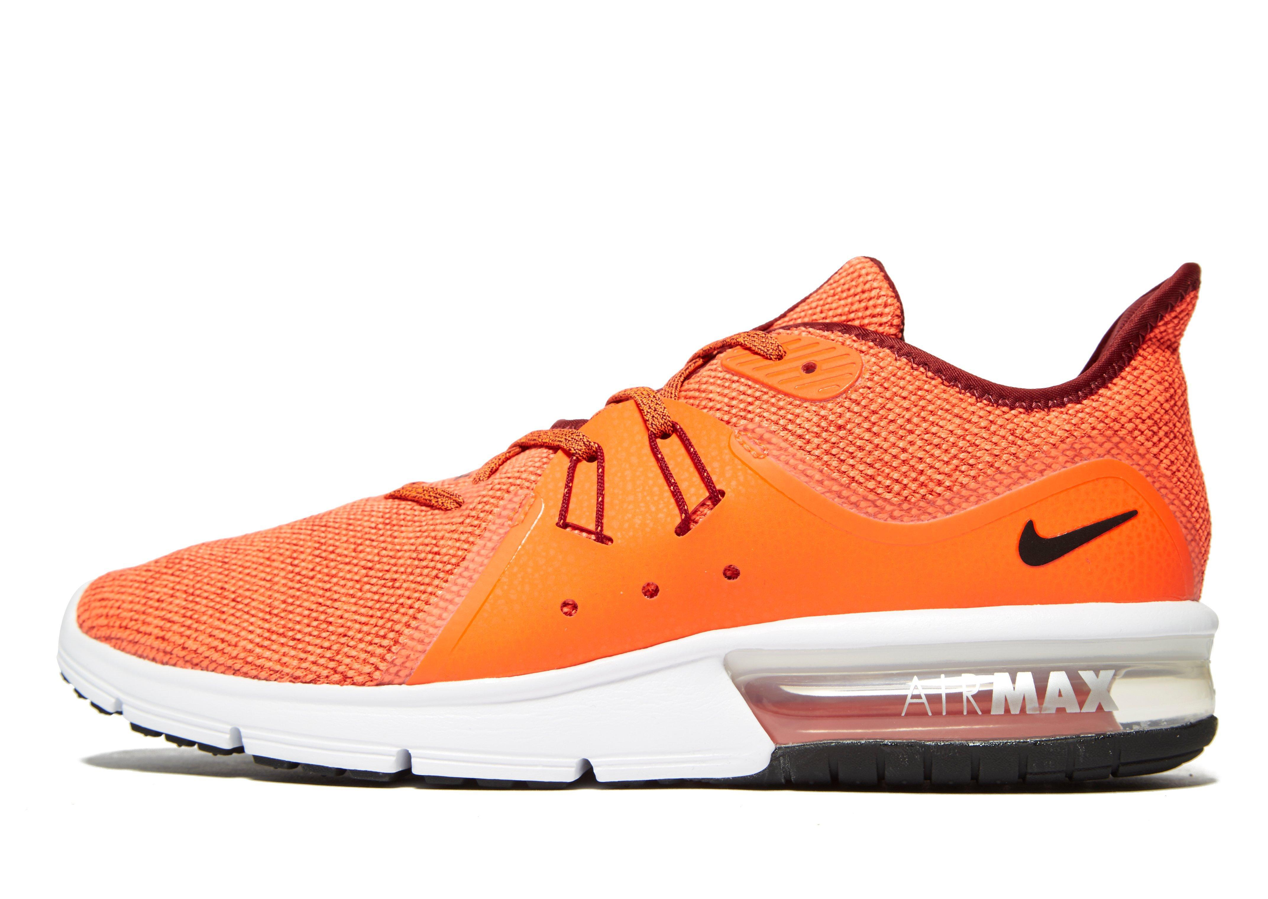 bcac4110bb Nike Air Max Sequent 3 in Orange for Men - Lyst