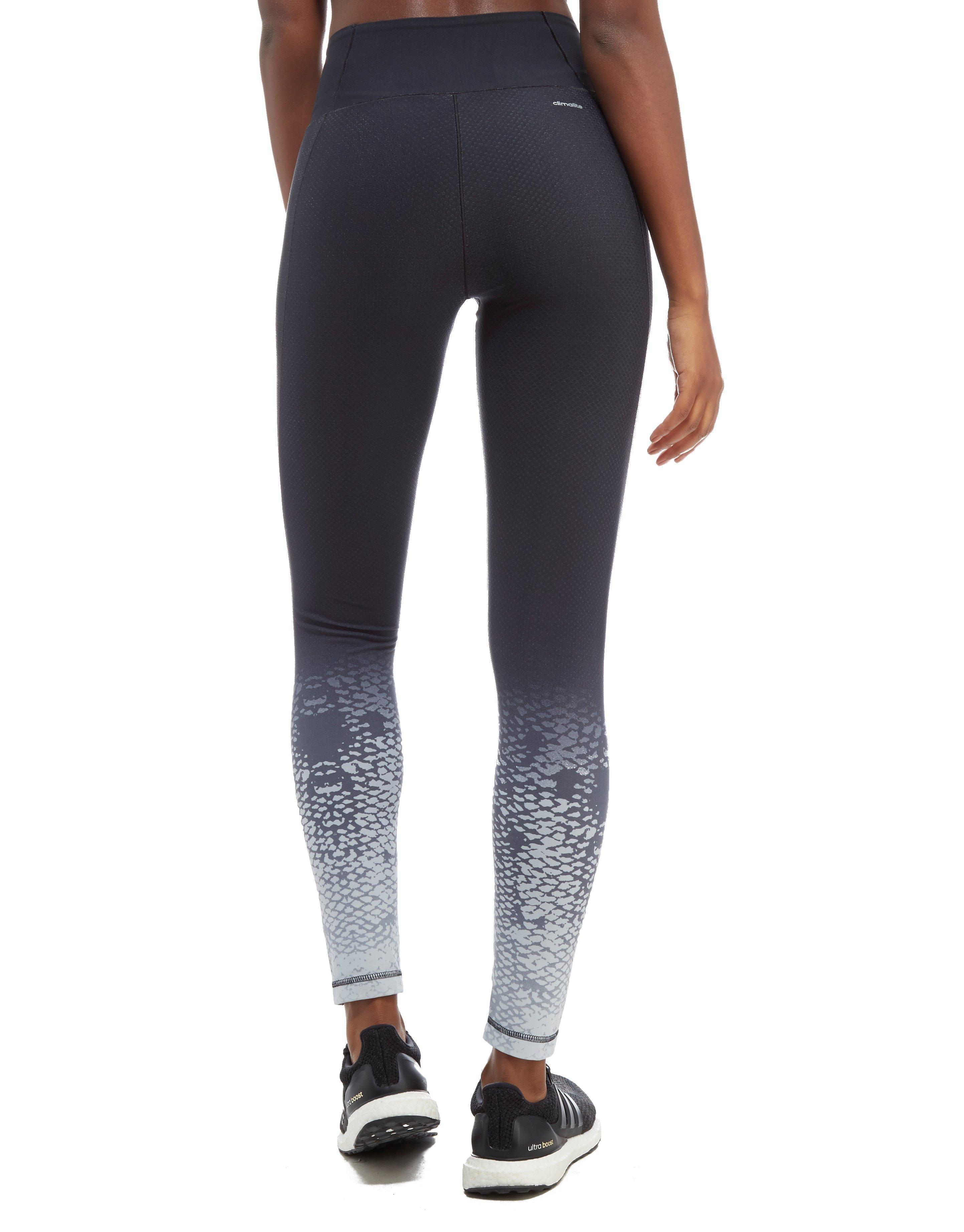 6991f94c737d9 adidas Miracle Sculpt Tights in Gray - Lyst
