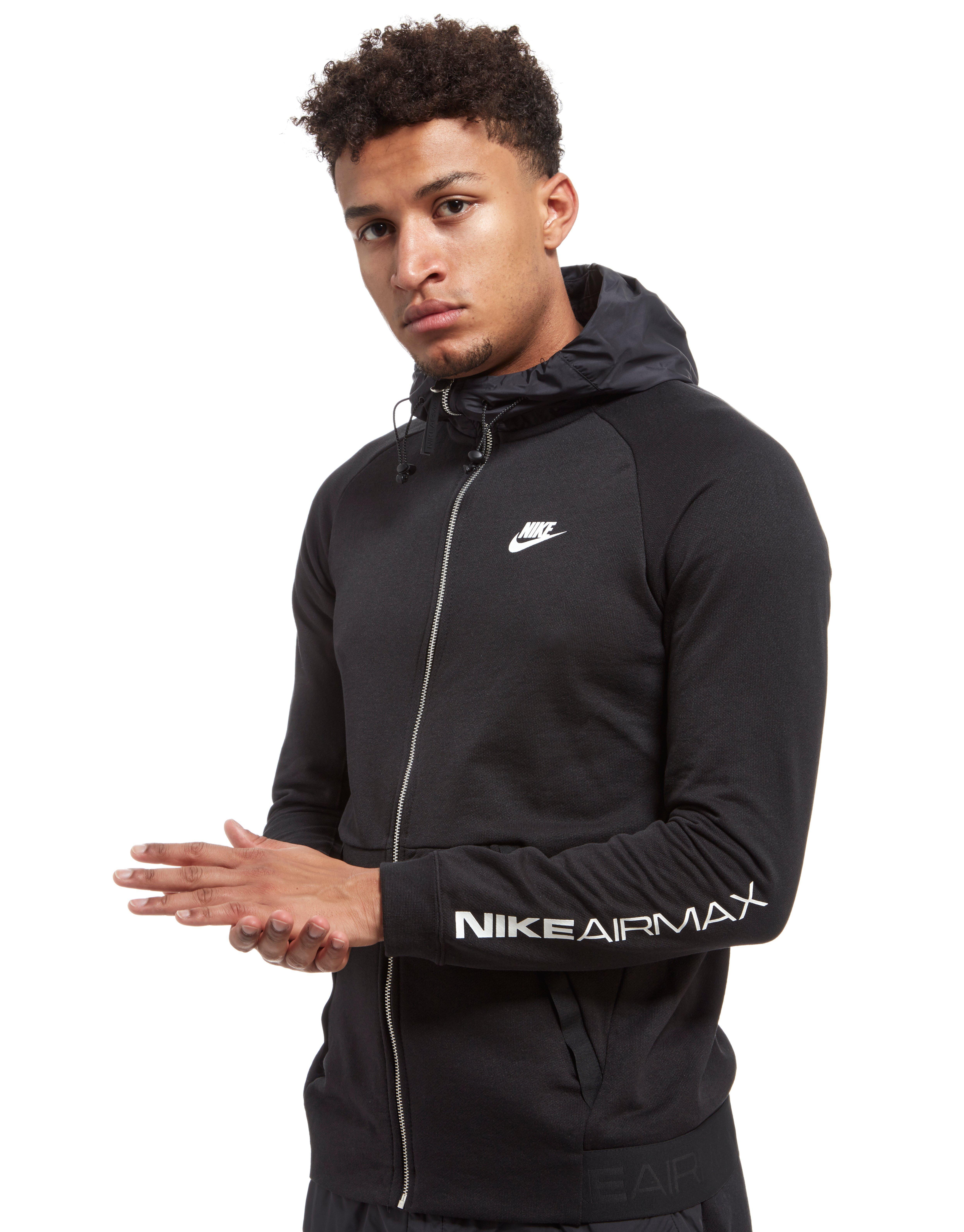 13ad28f2bffd Lyst - Nike Air Max Ft Full Zip Hoodie in Black for Men
