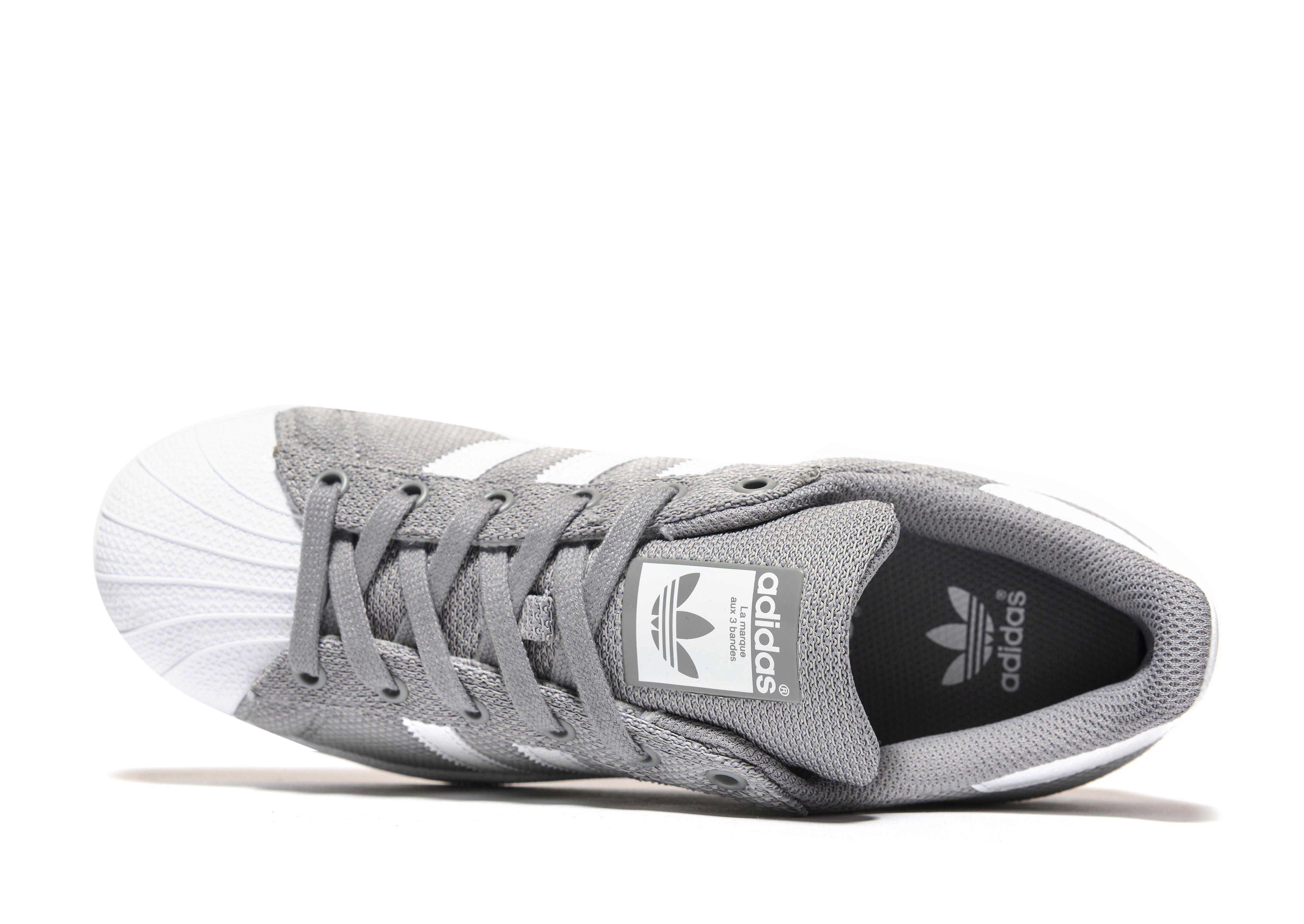 b264cc743c47 Lyst - adidas Originals Superstar Junior in Gray for Men