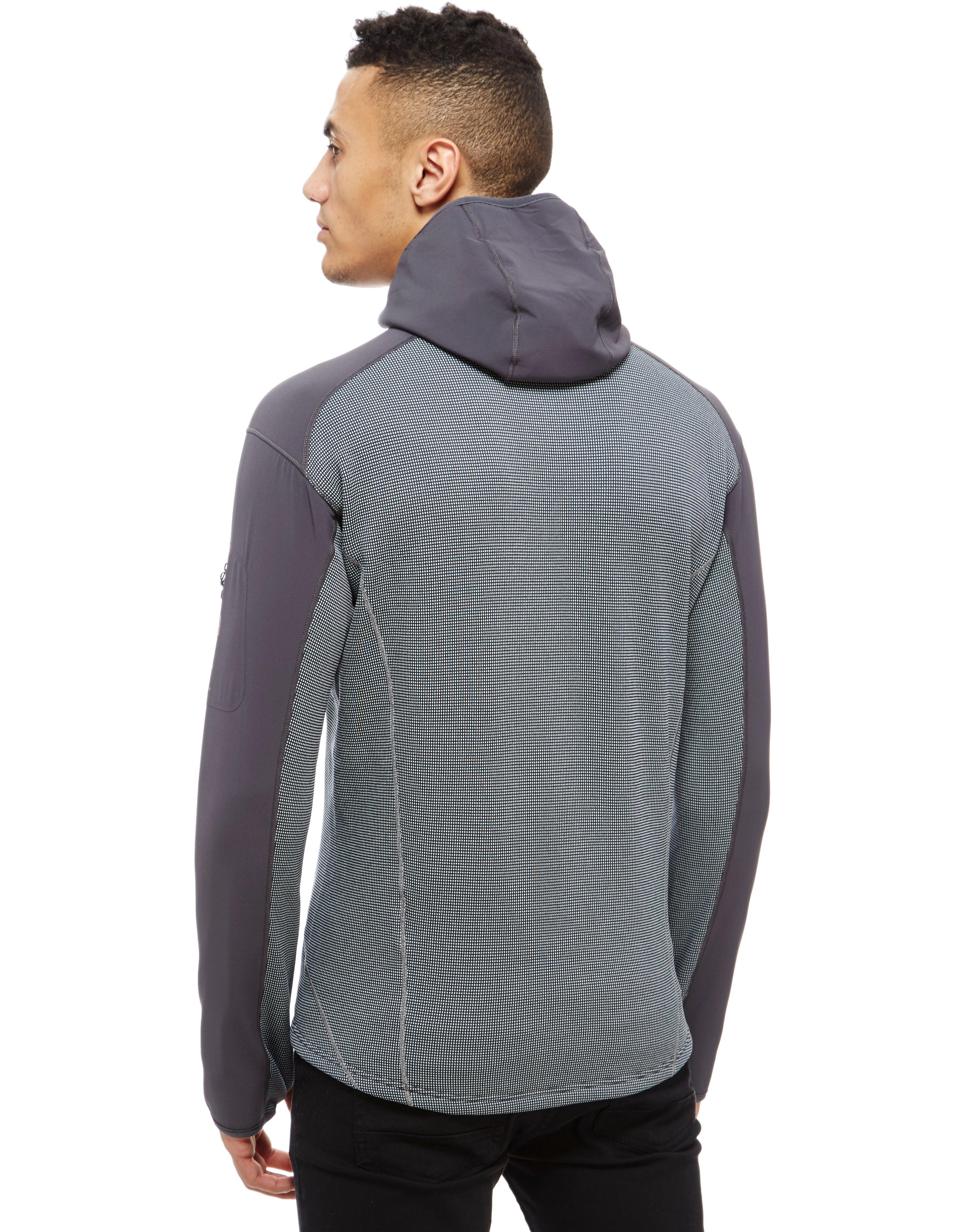 huge selection of c6897 88087 Berghaus Fleece Cereda 1/2 Zip Hoodie in Grey (Gray) for Men ...
