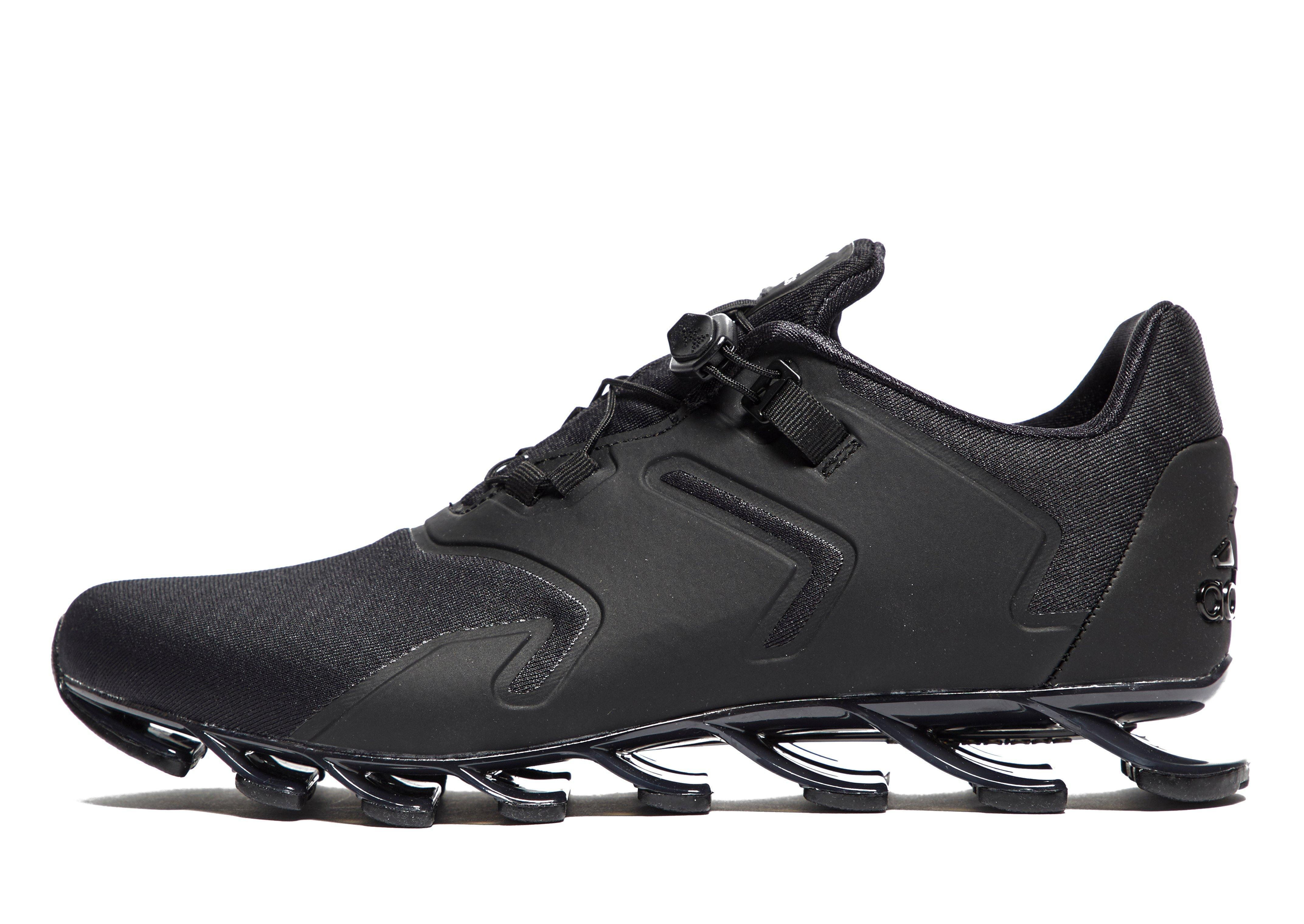 newest 51ed7 63c4b ... Adidas Springblade Solyce Running Shoes in Black Lyst ...