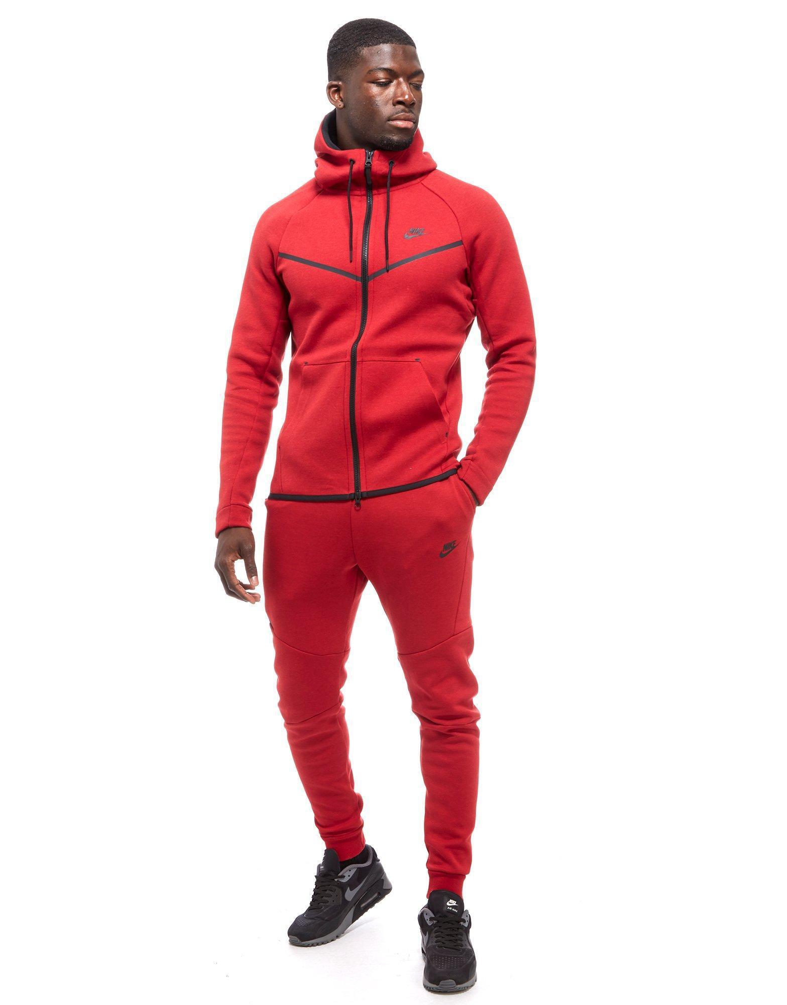 Red Nike Tech Fleece Tracksuit Off 61 Www Ncccc Gov Eg