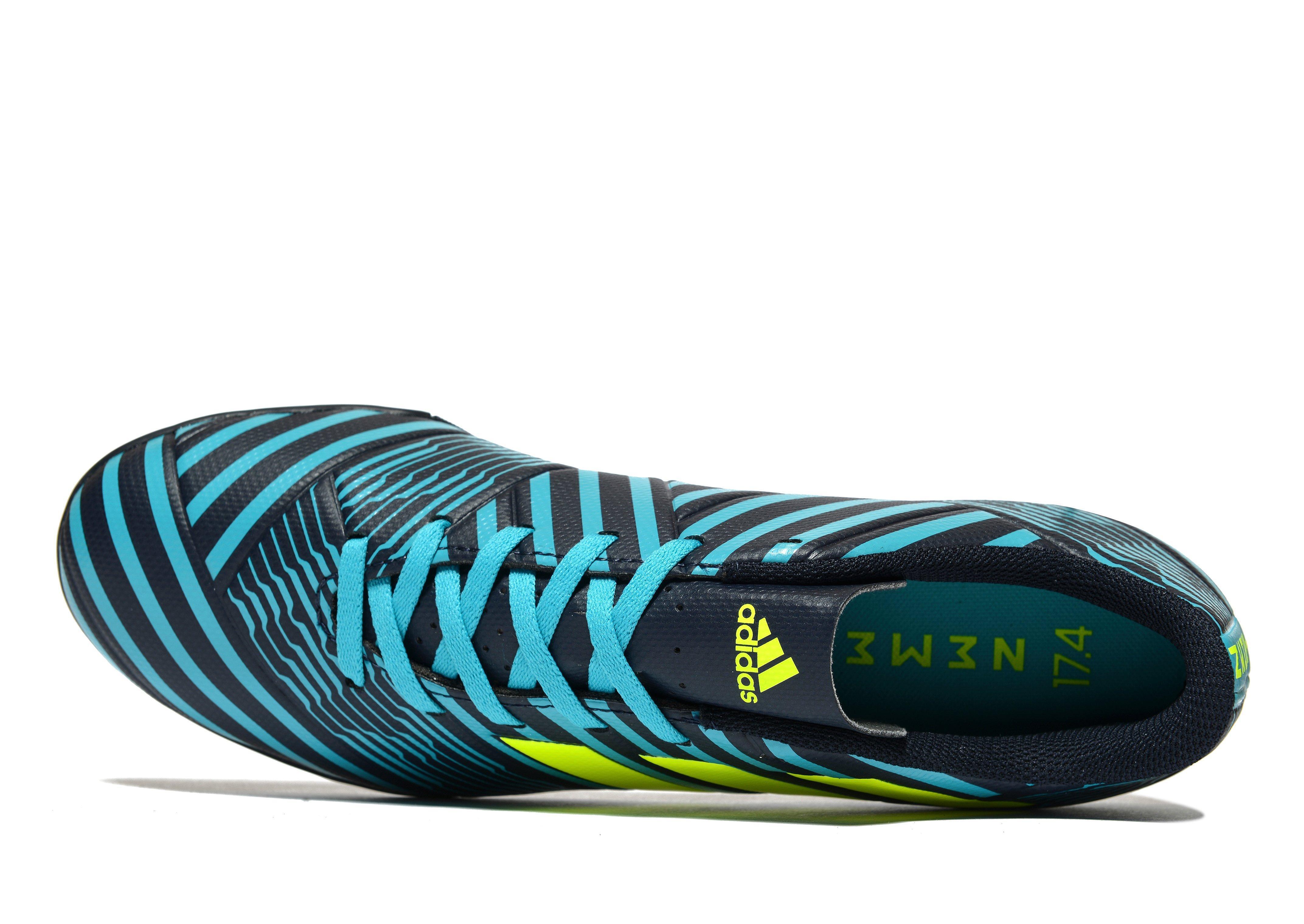a7f8d93e83dd adidas Ocean Storm Nemeziz 17.4 Turf in Blue for Men - Lyst