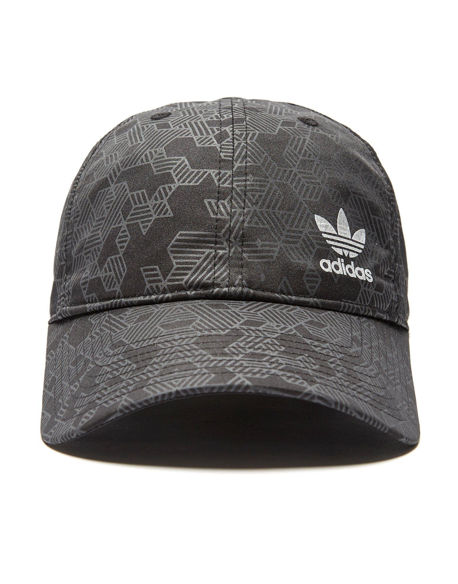 abe830a0667c0 ... netherlands lyst adidas originals street run cap in black for men 614a0  ee1f9