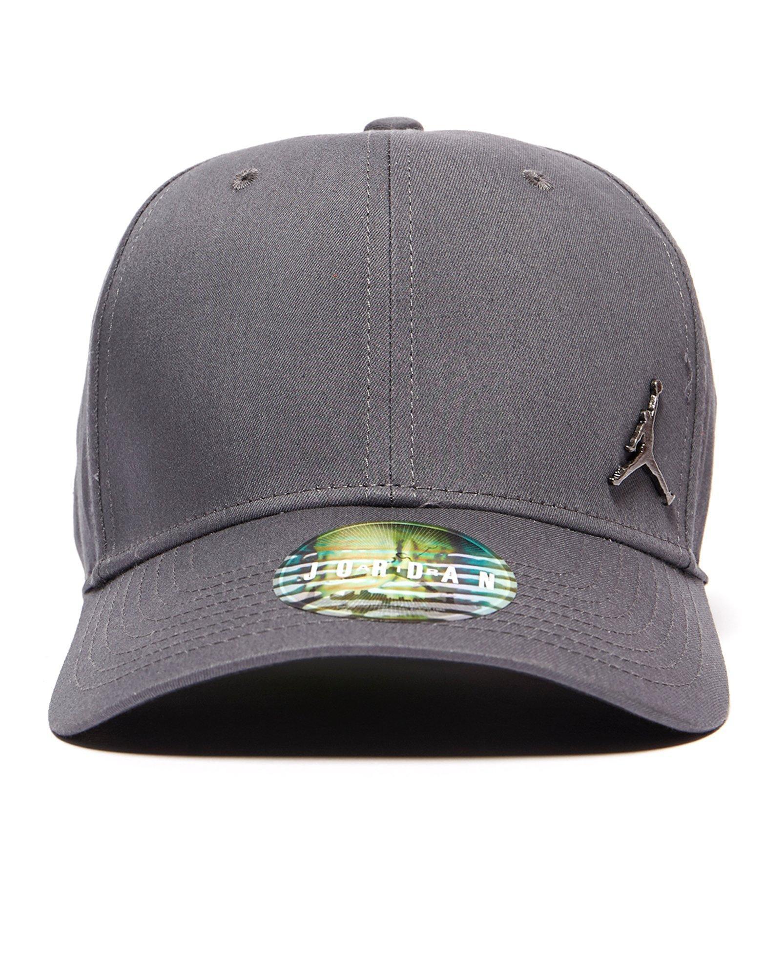 9aa4378630b Nike Metal Jumpman Cap in Gray for Men - Lyst
