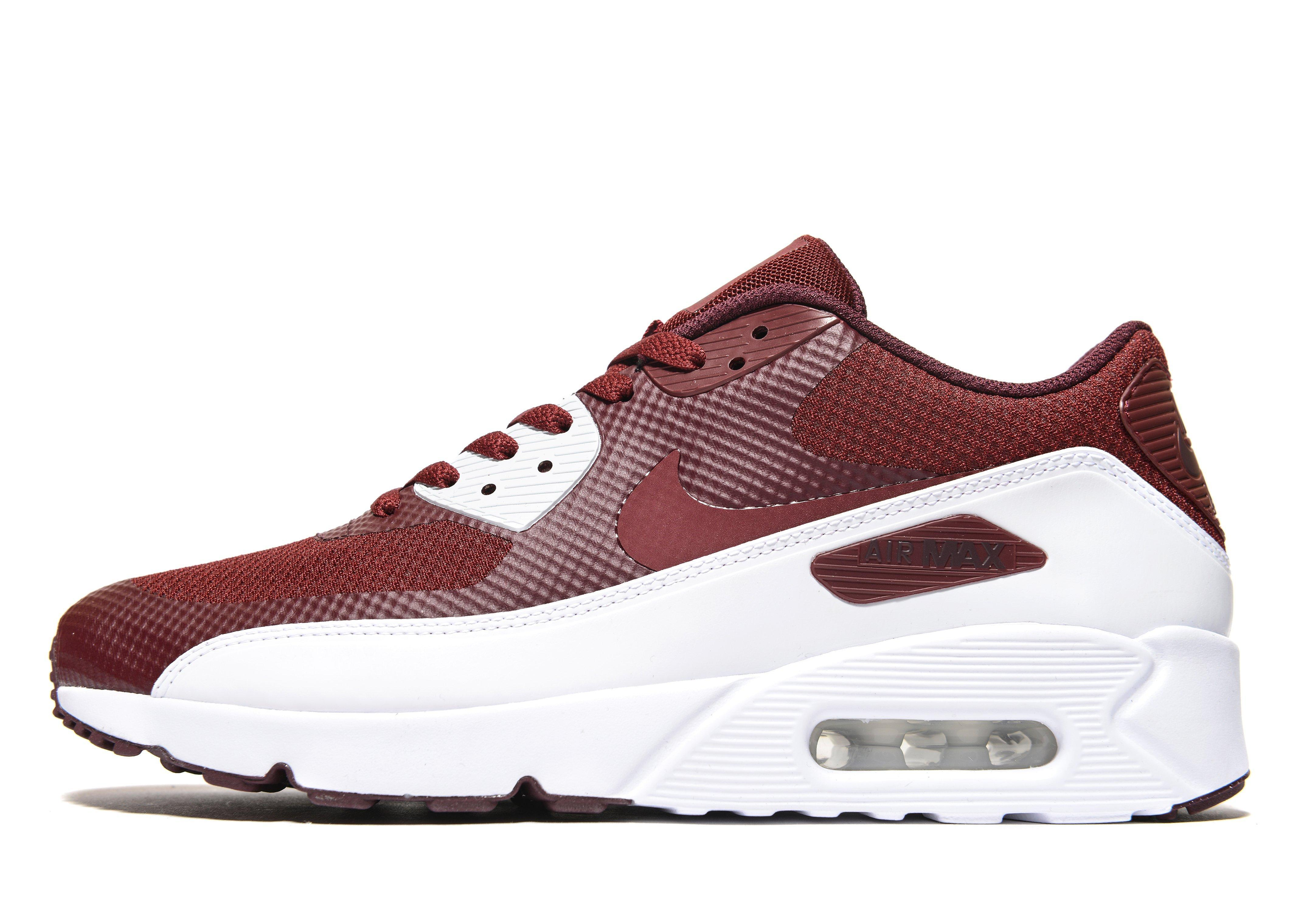 differently 3c7ac 693c1 Nike Air Max 90 Ultra Essential 2.0 in Red for Men - Lyst