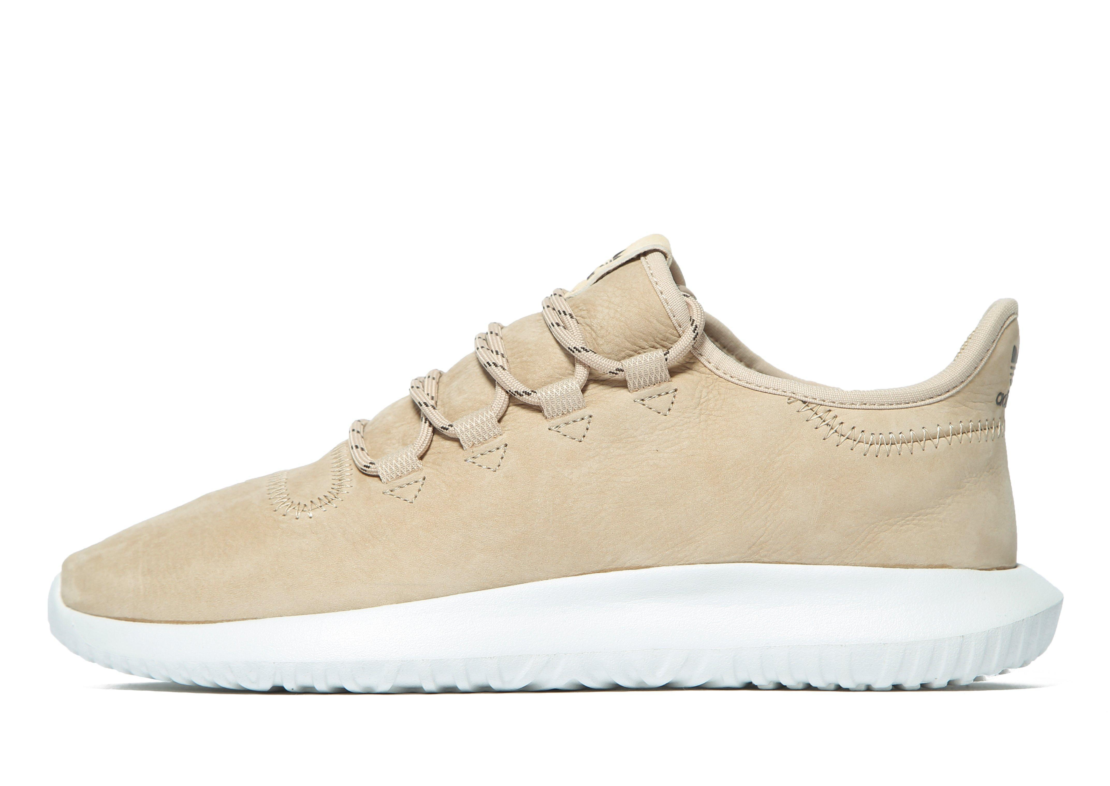 e38cd3bc314 adidas Originals Tubular Shadow Leather in Natural - Lyst