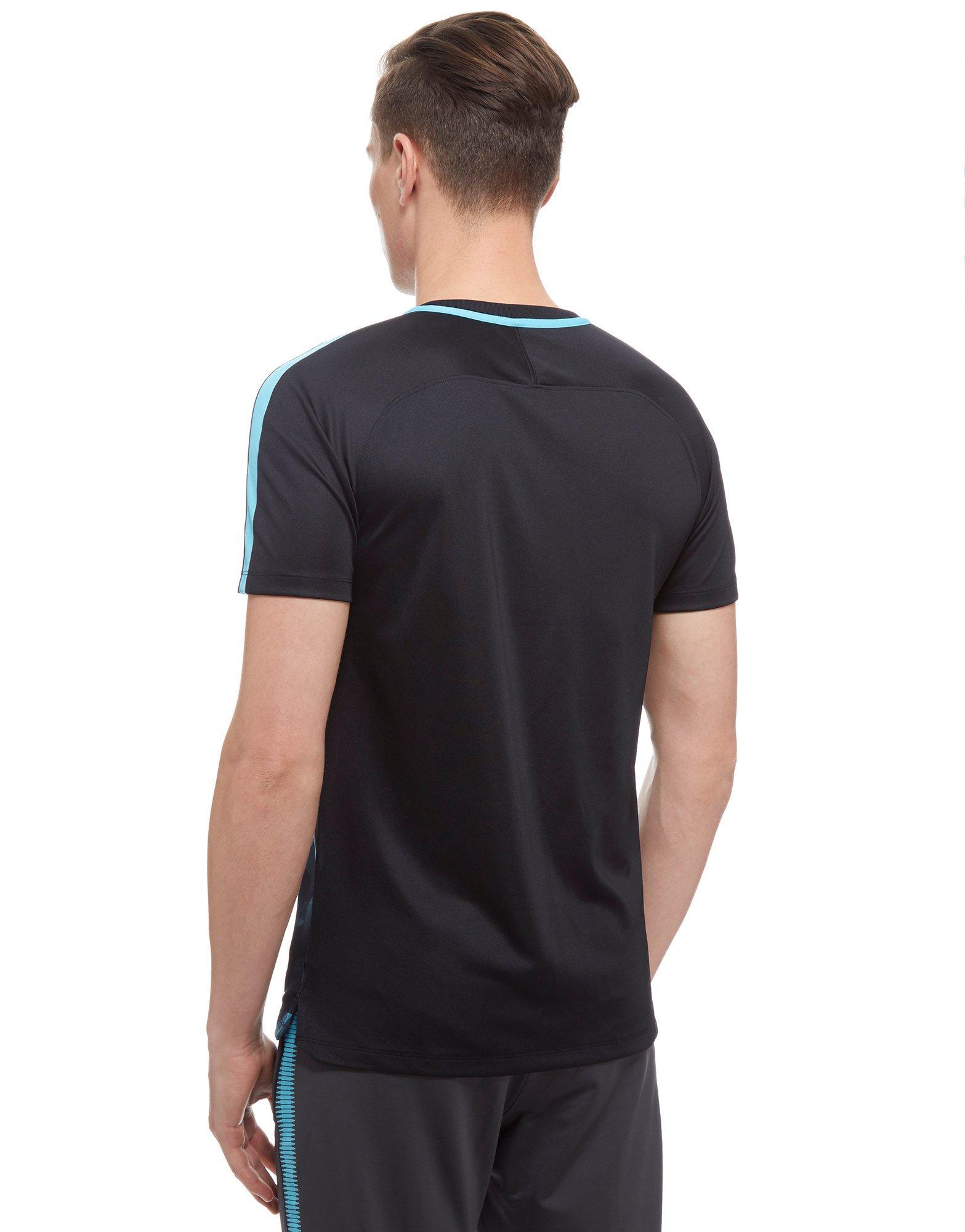 Nike Synthetic Chelsea Fc 2017 Squad Training Shirt in Black for Men
