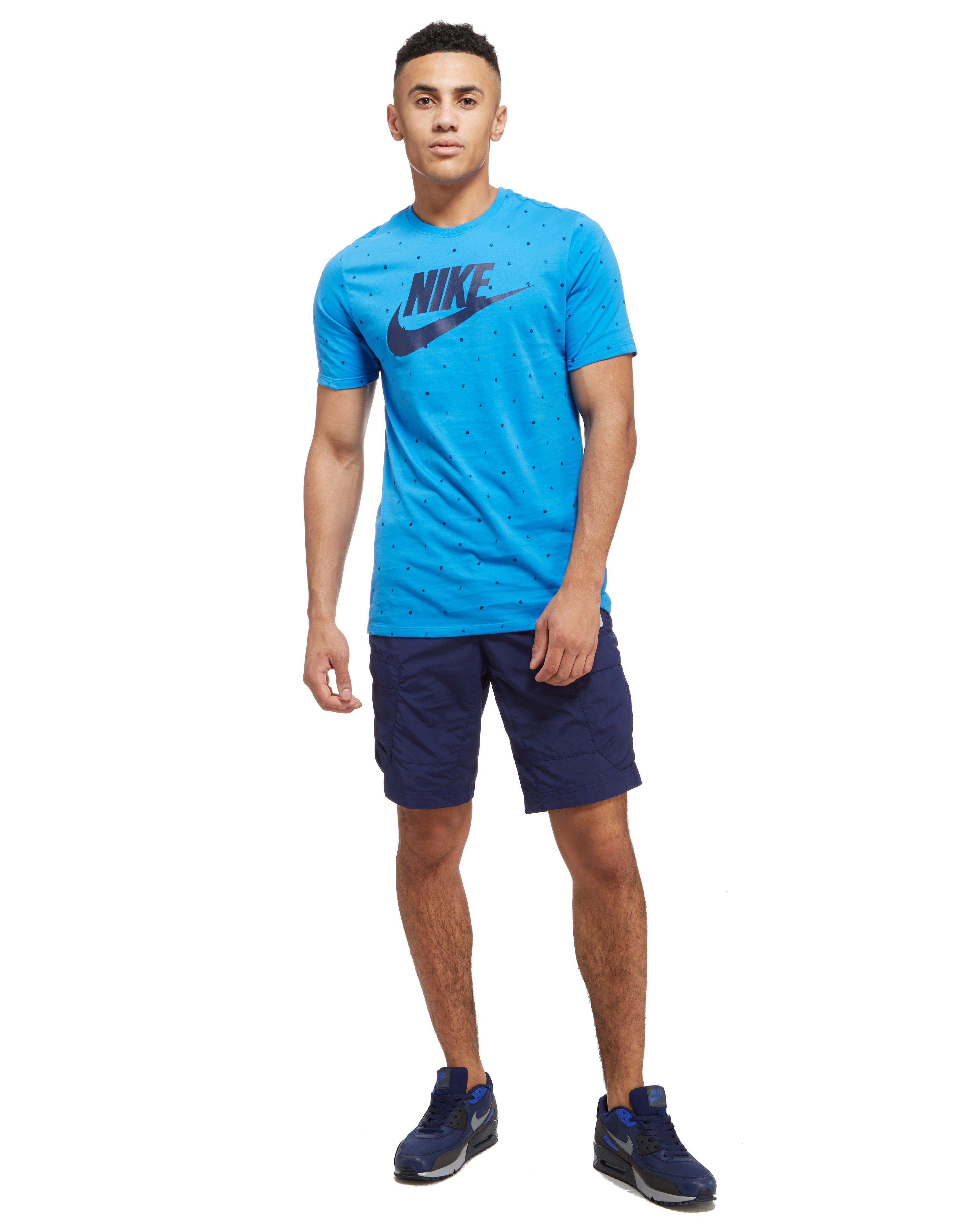 c341c652f63b Nike Air Max Cargo Shorts in Blue for Men - Lyst