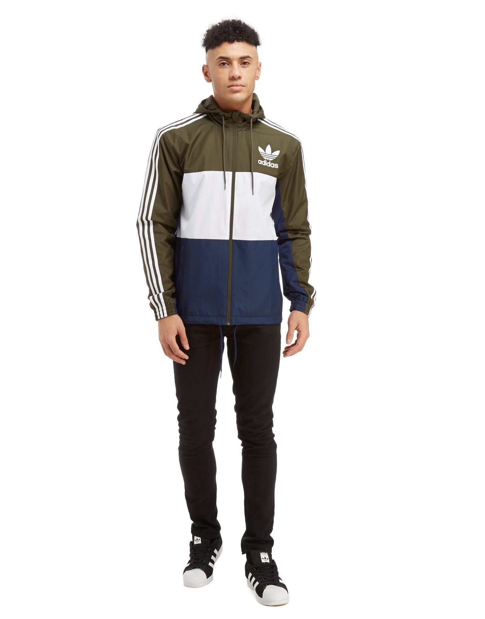adidas originals khaki jacket