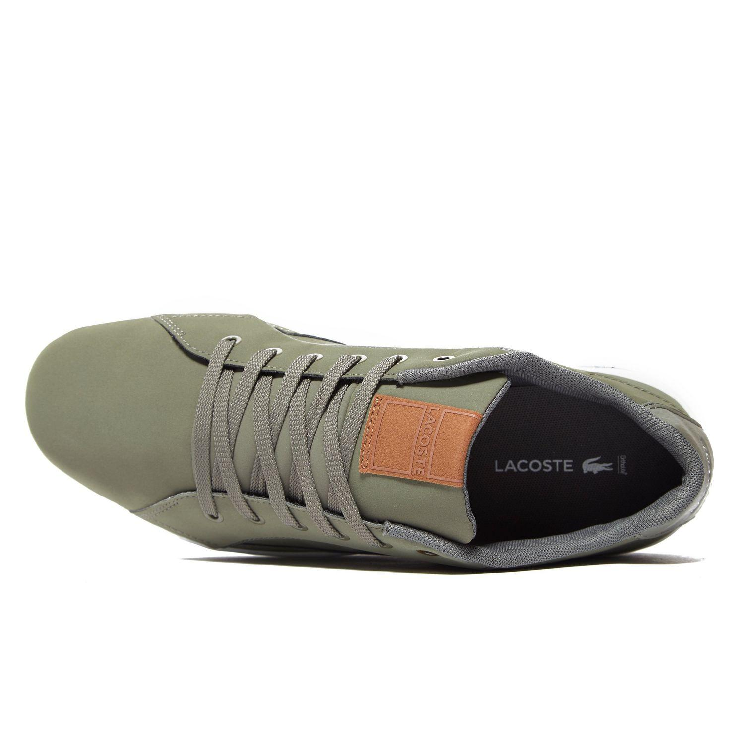 Lacoste Synthetic Deviation Ii in Olive