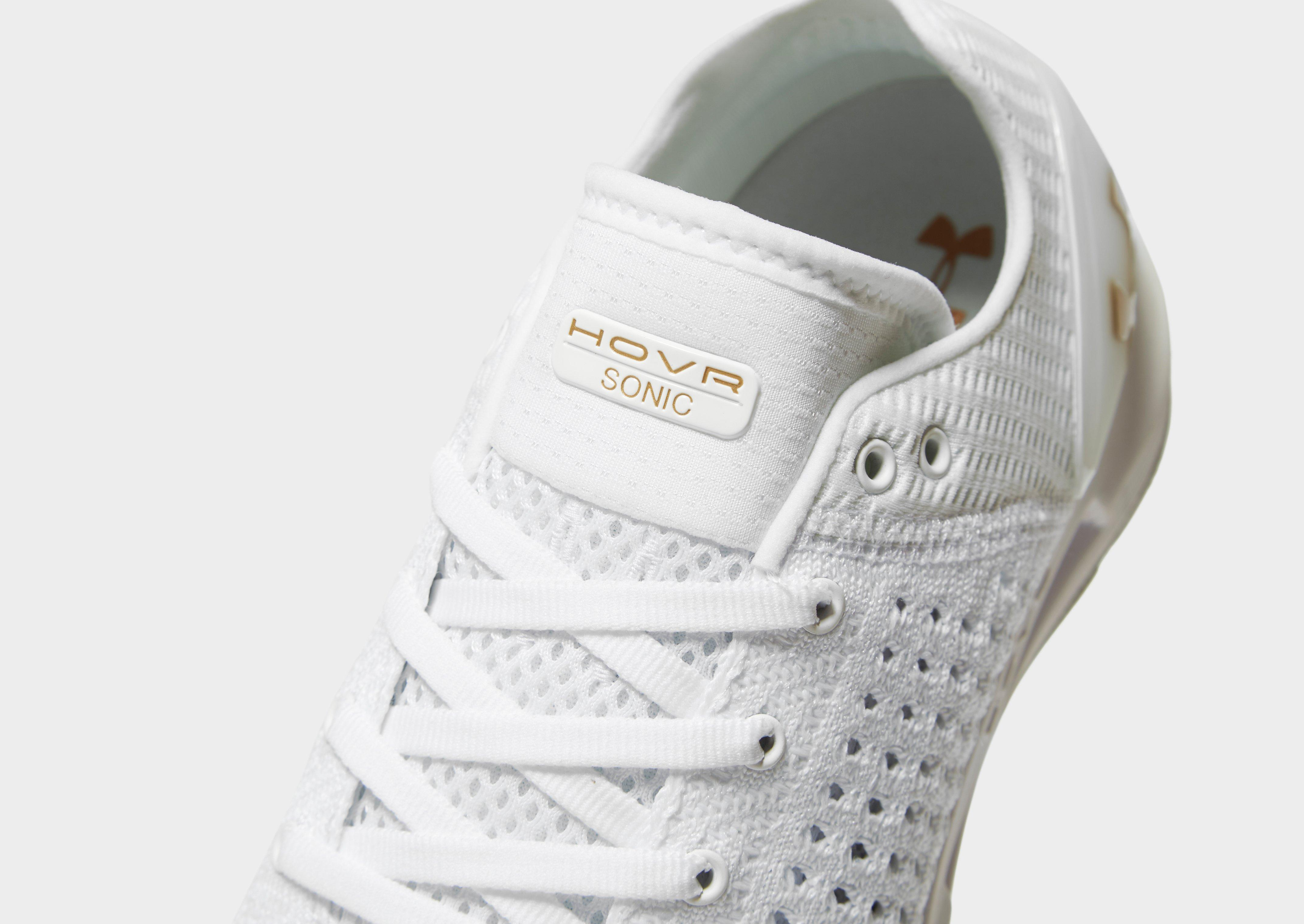 Under Armour Rubber Hovr Sonic in White