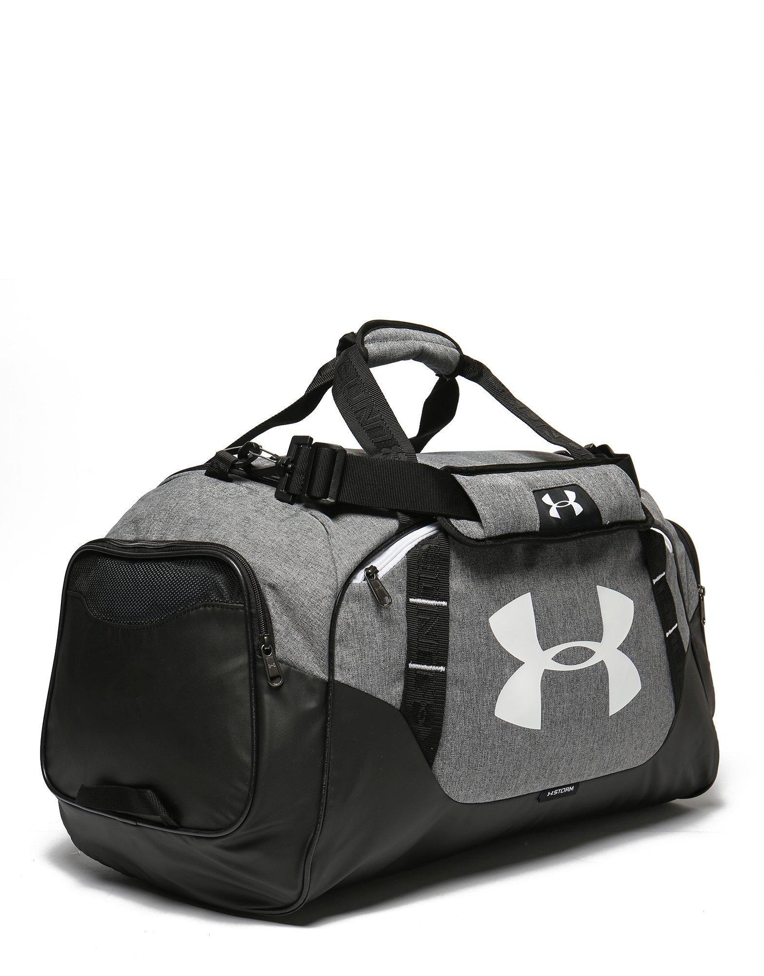 33f11c8ce8 Under Armour - Black Men s Ua Undeniable 3.0 Medium Duffle Bag for Men -  Lyst