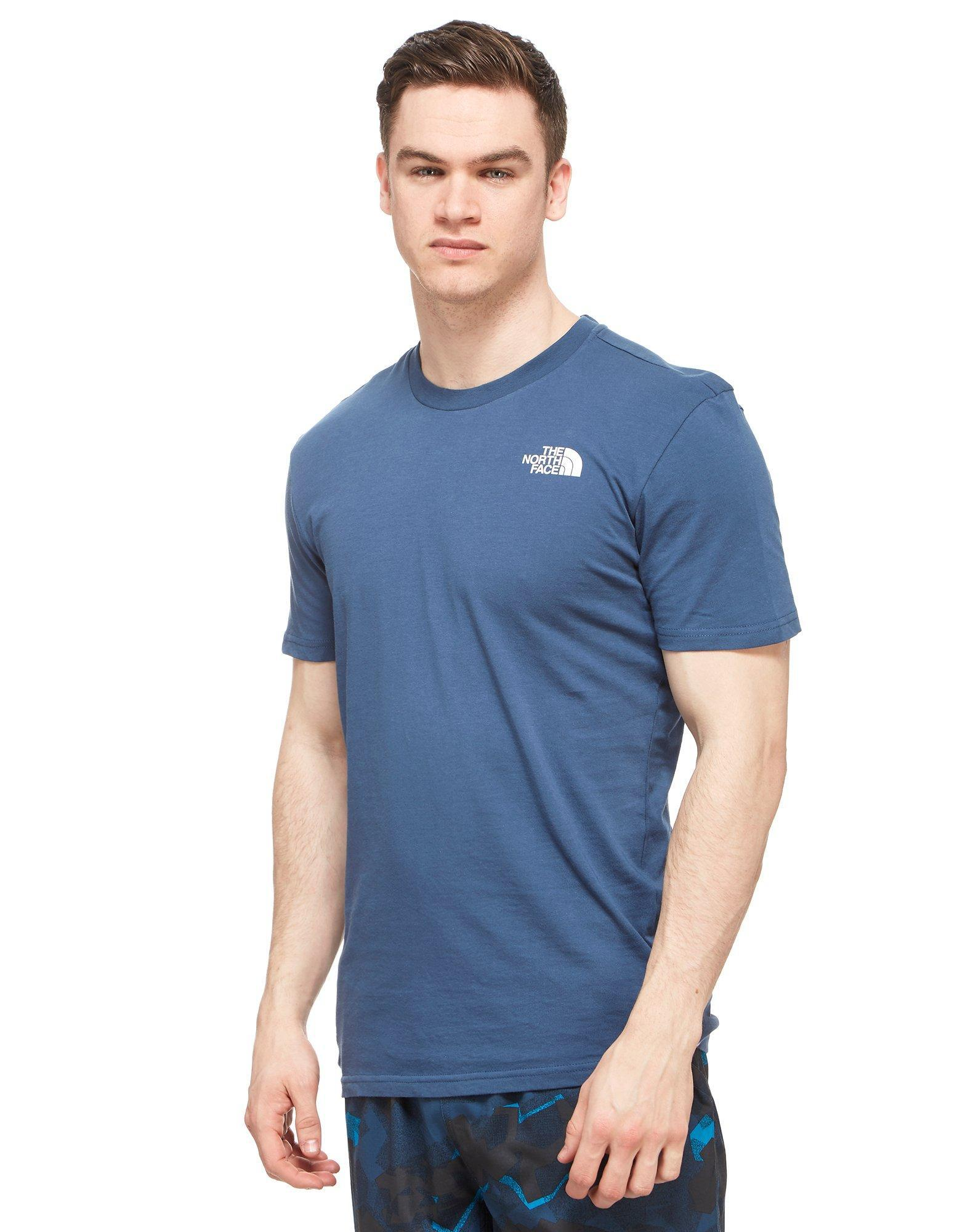3b8784ad3 Lyst - The North Face Simple Dome T-shirt in Blue for Men