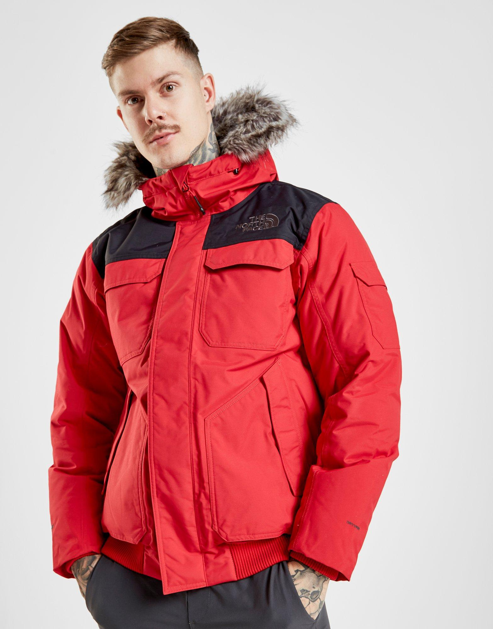9a3ef9629 The North Face Red Gotham Iii Jacket for men