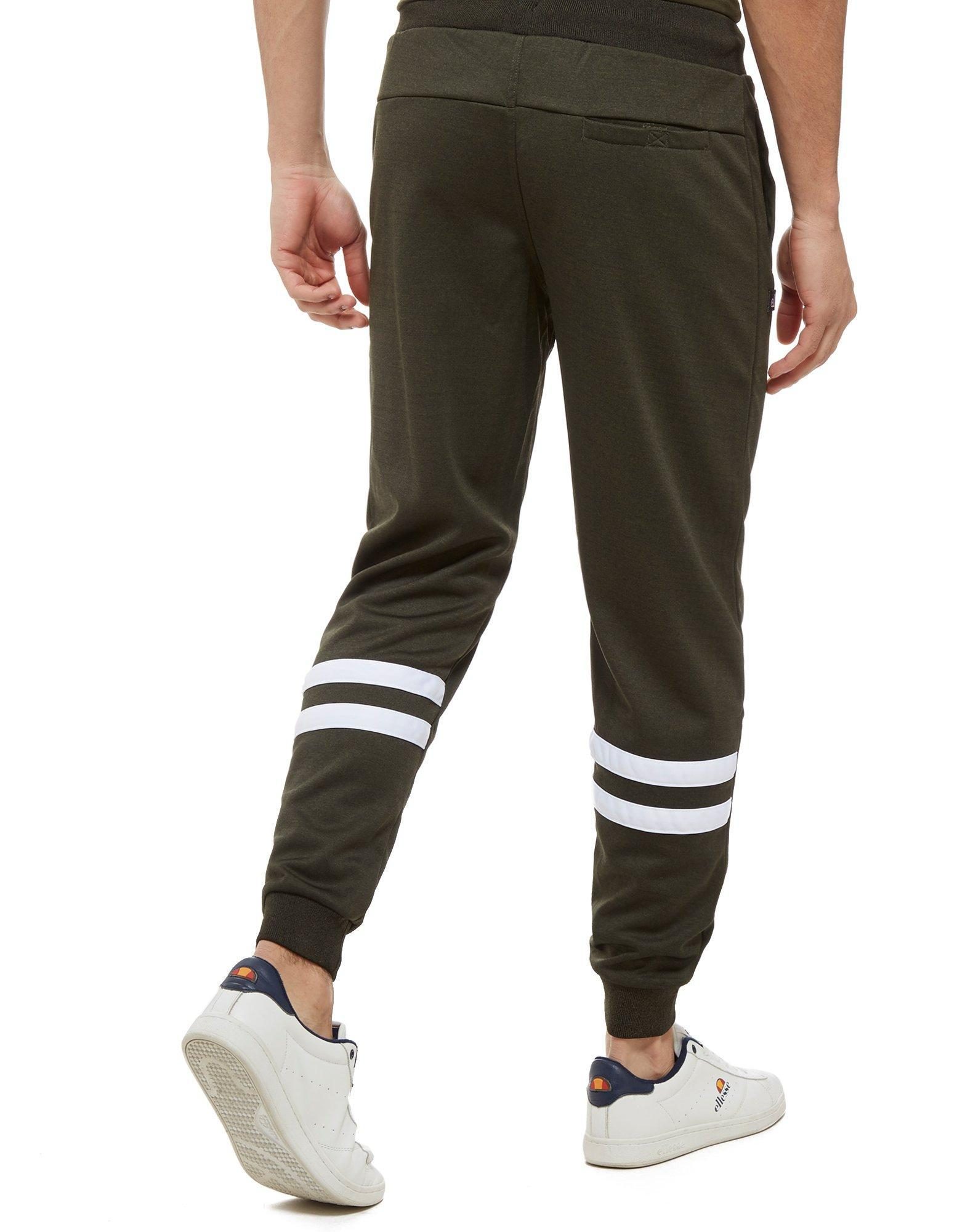 Ellesse Synthetic Fazarono Poly Pants in Green/White (Green) for Men