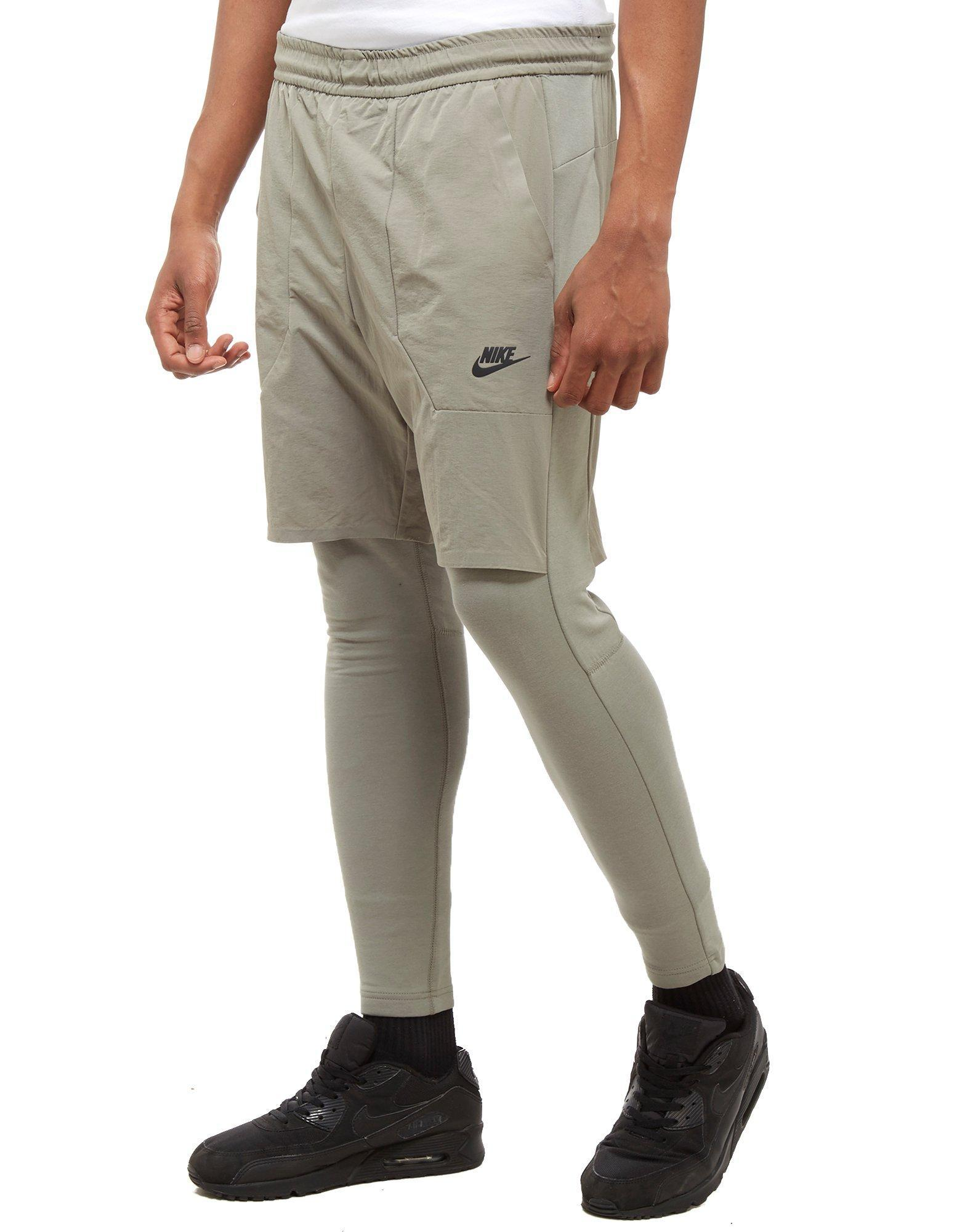nike 2 in 1 pants
