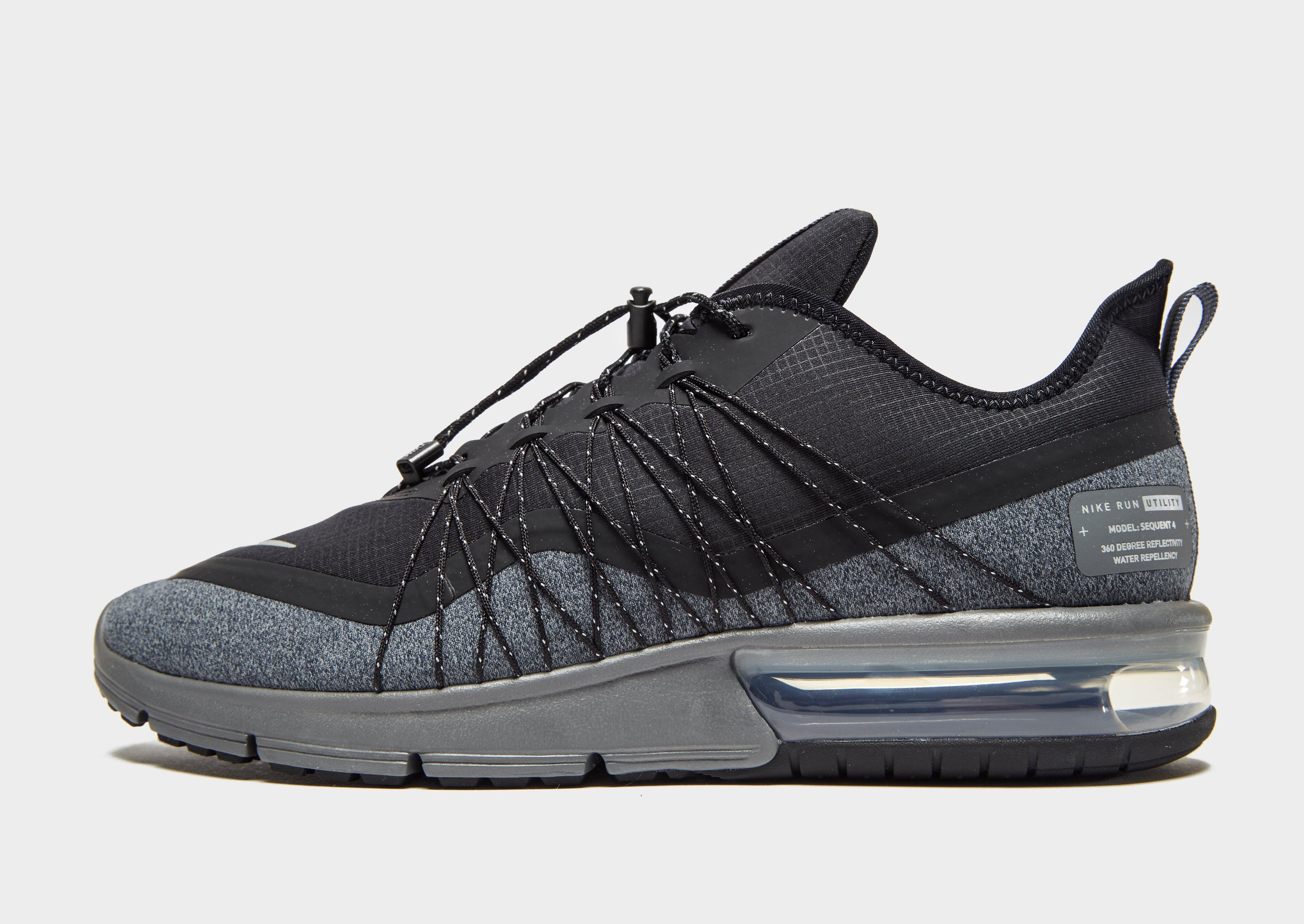 Lyst Nike Air Max Sequent 4 Utility In Black For Men