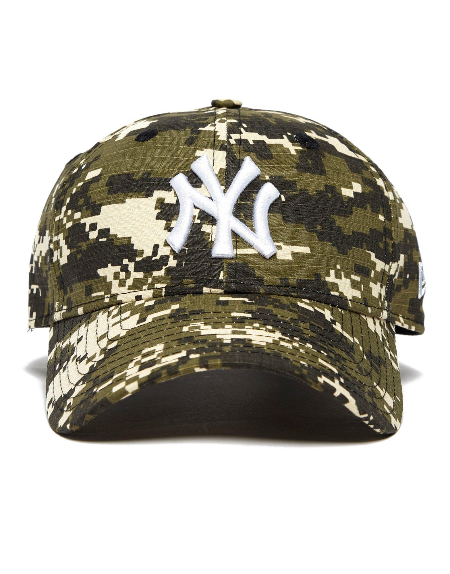 20fbb11b3bb ... france lyst ktz new york yankees 9forty digital cap in green for men  3590f db622