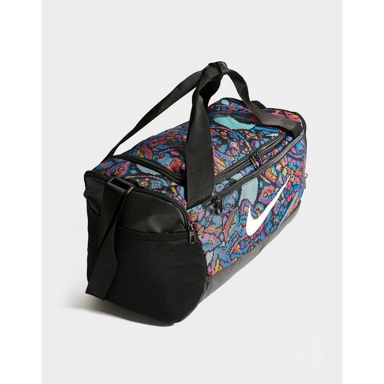 escribir una carta acoplador cartel  Nike Synthetic Brasilia All Over Print Small Duffel Bag - Lyst