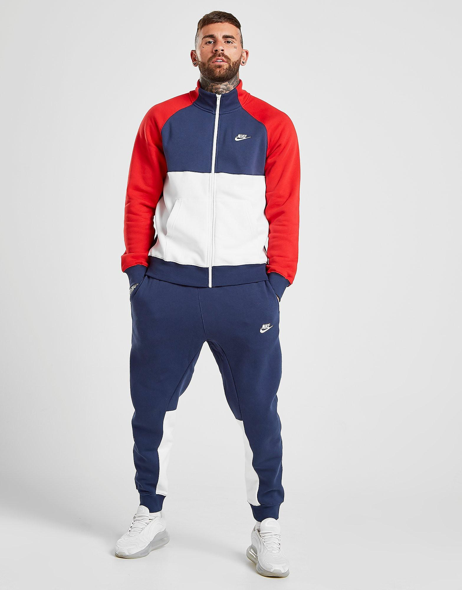 nike ensemble survetement homme