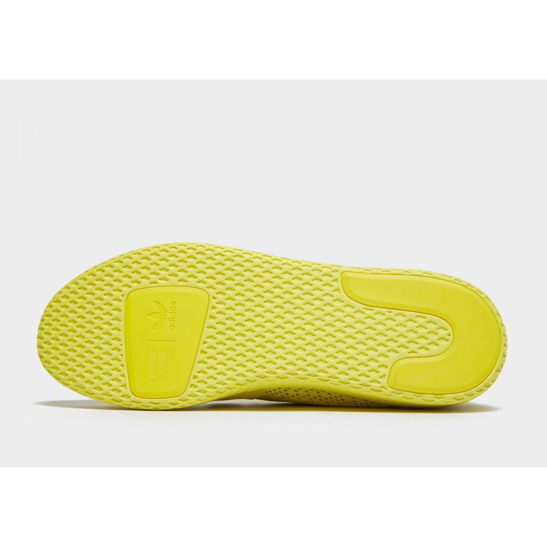 26ab09b35 Adidas Originals - Yellow X Pharrell Williams Tennis Hu V2 for Men - Lyst.  View fullscreen