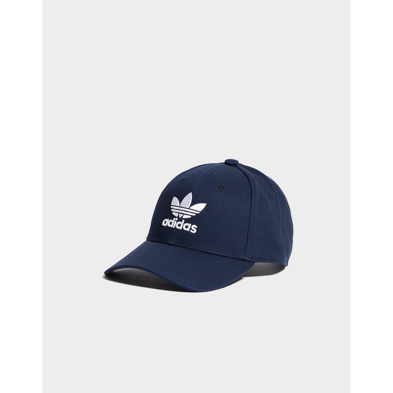 722ab10913a Lyst - Adidas Originals Trefoil Classic Cap in Blue for Men
