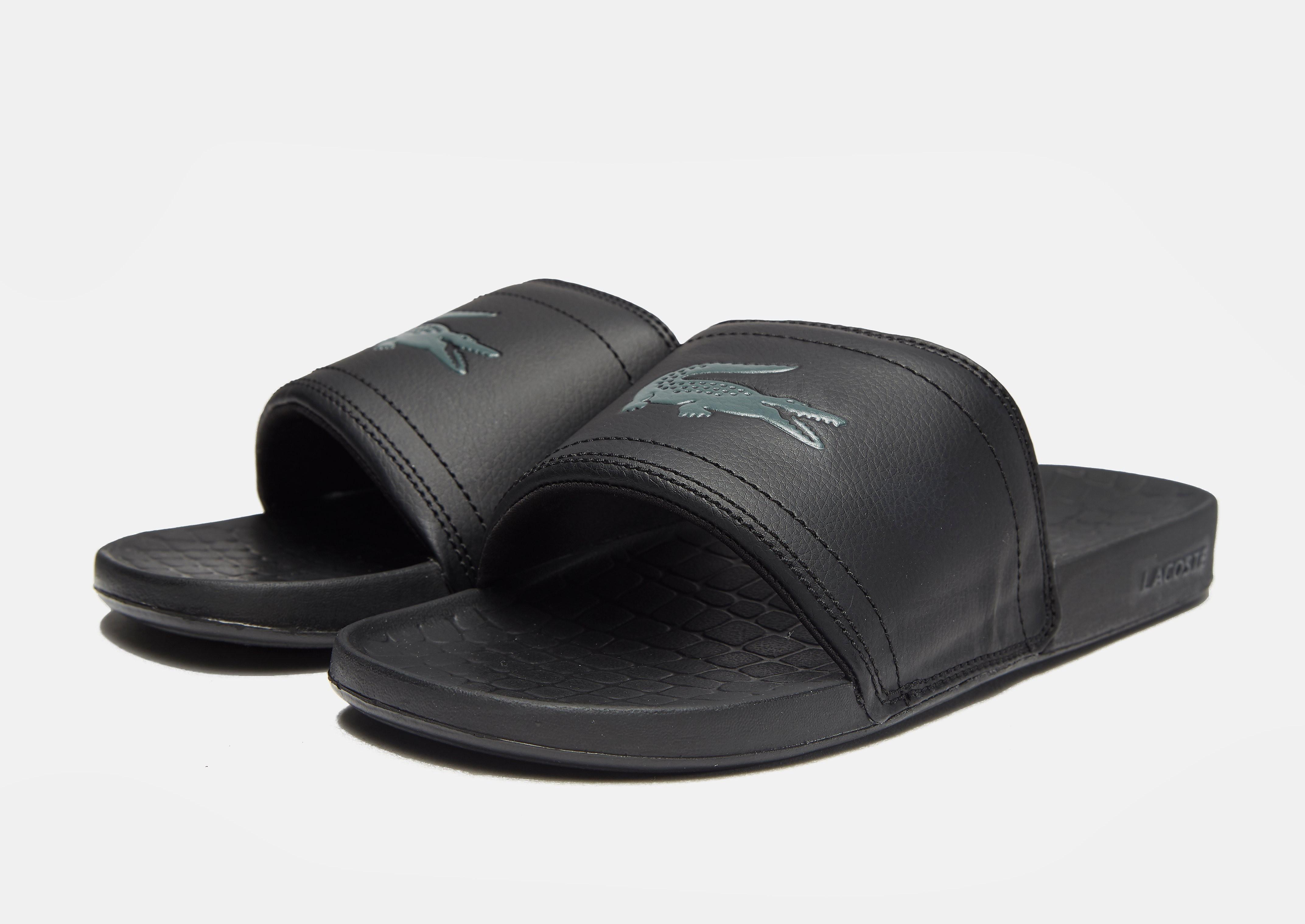 Lacoste Claquettes Homme Noir Coloris Pour Lyst Frasier En Onw08PkX