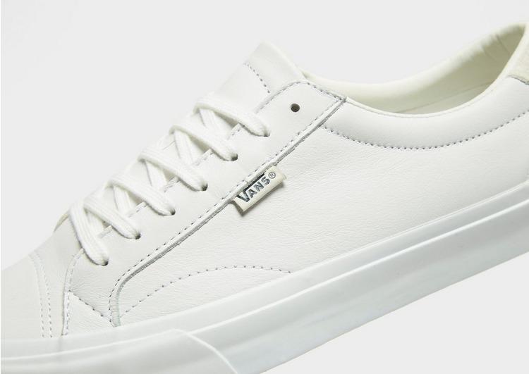Vans Court Leather in White for Men - Lyst