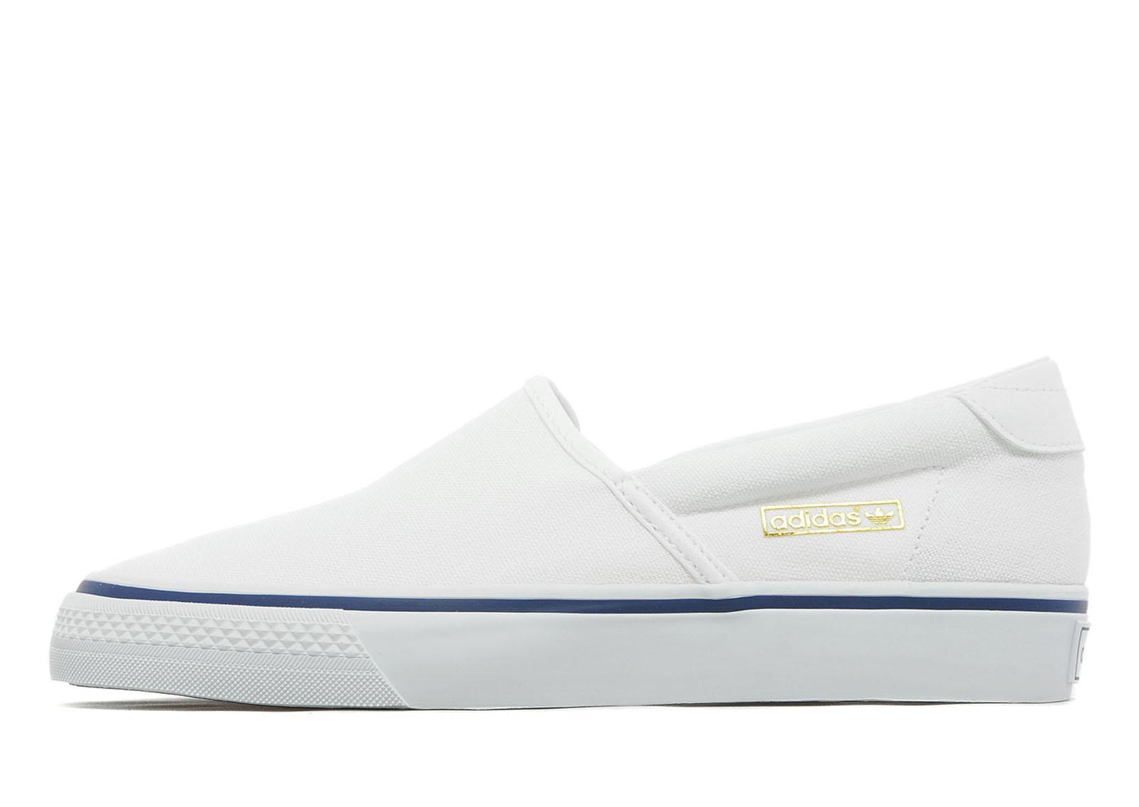 cheap for discount fbf55 3e27f adidas Originals Adidrill Vulc in White for Men - Lyst