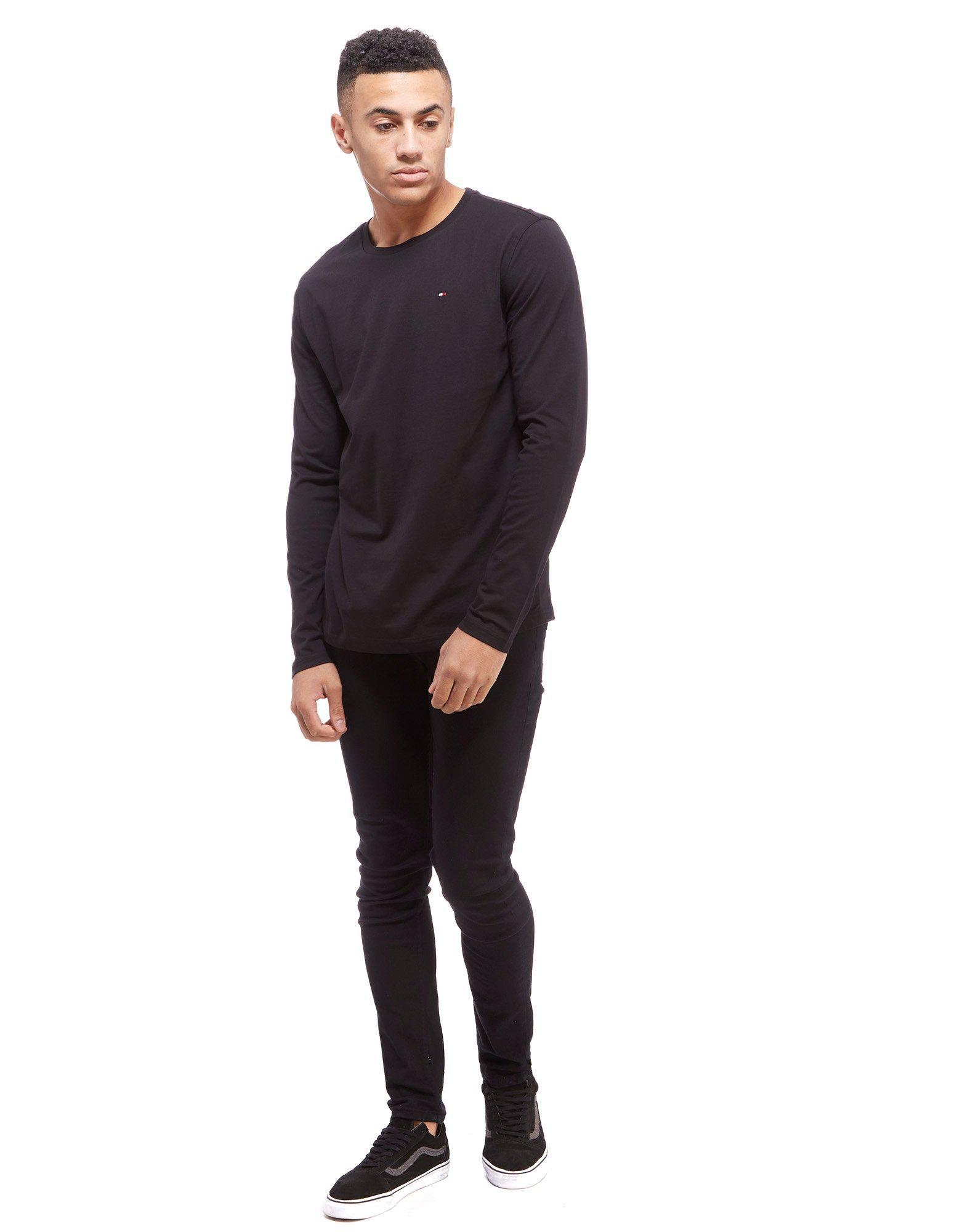 Lyst Tommy Hilfiger Icon Basic Long Sleeve T Shirt In