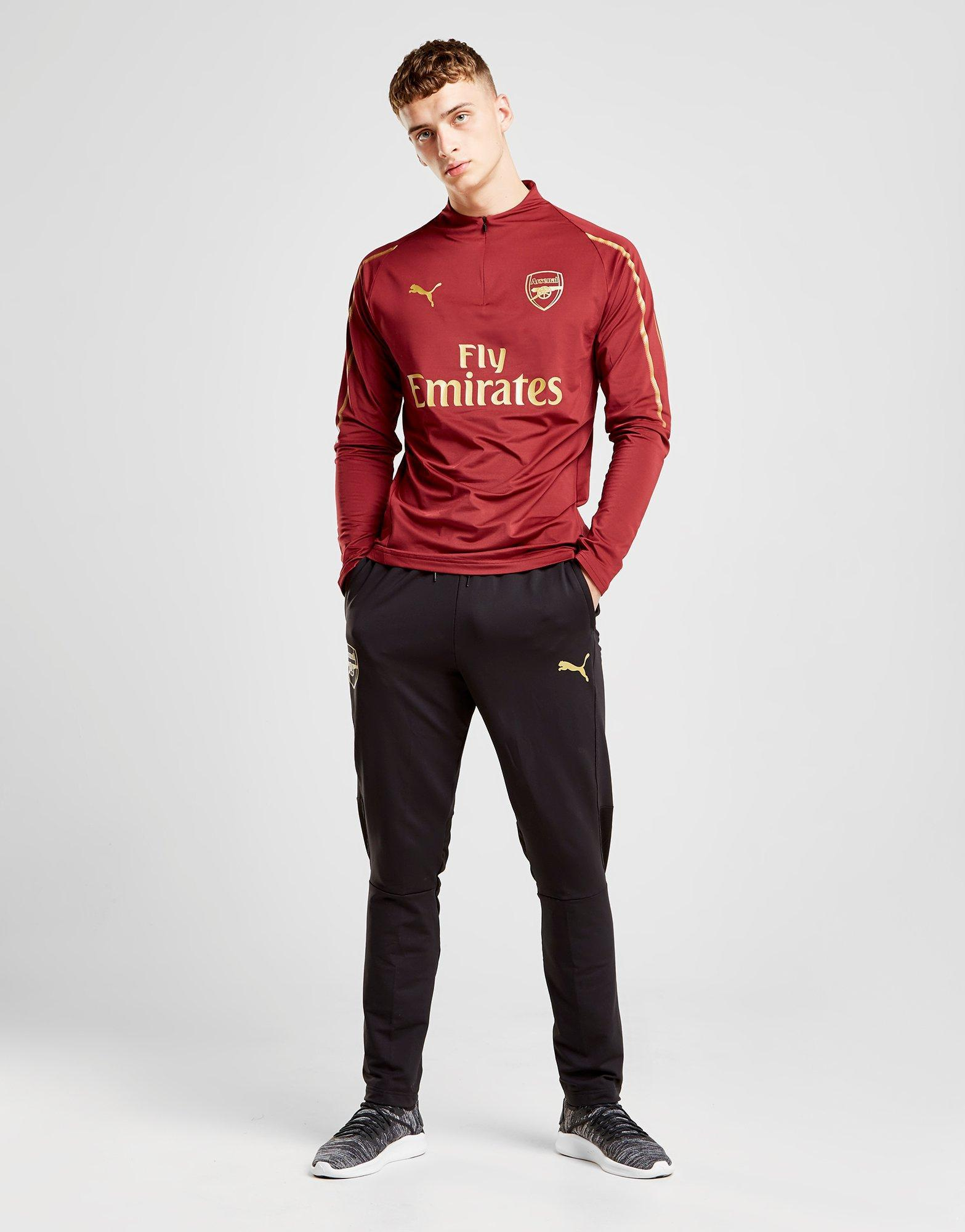 8665d3e8c For Top In Red Men Arsenal Zip 14 Training Fc Lyst Puma 0qwnzUx8n