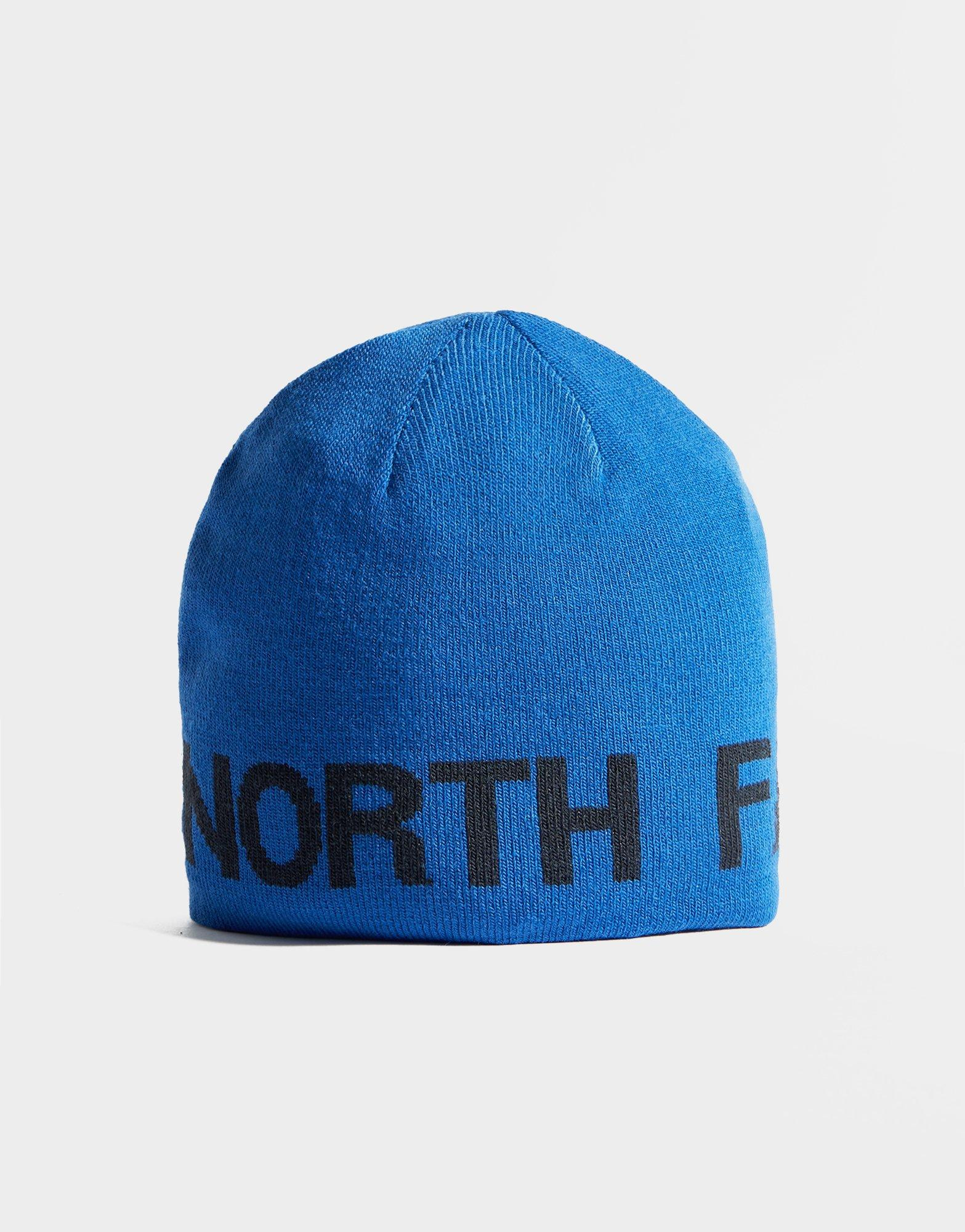 06296edc78a Lyst - The North Face Reversible Beanie in Blue