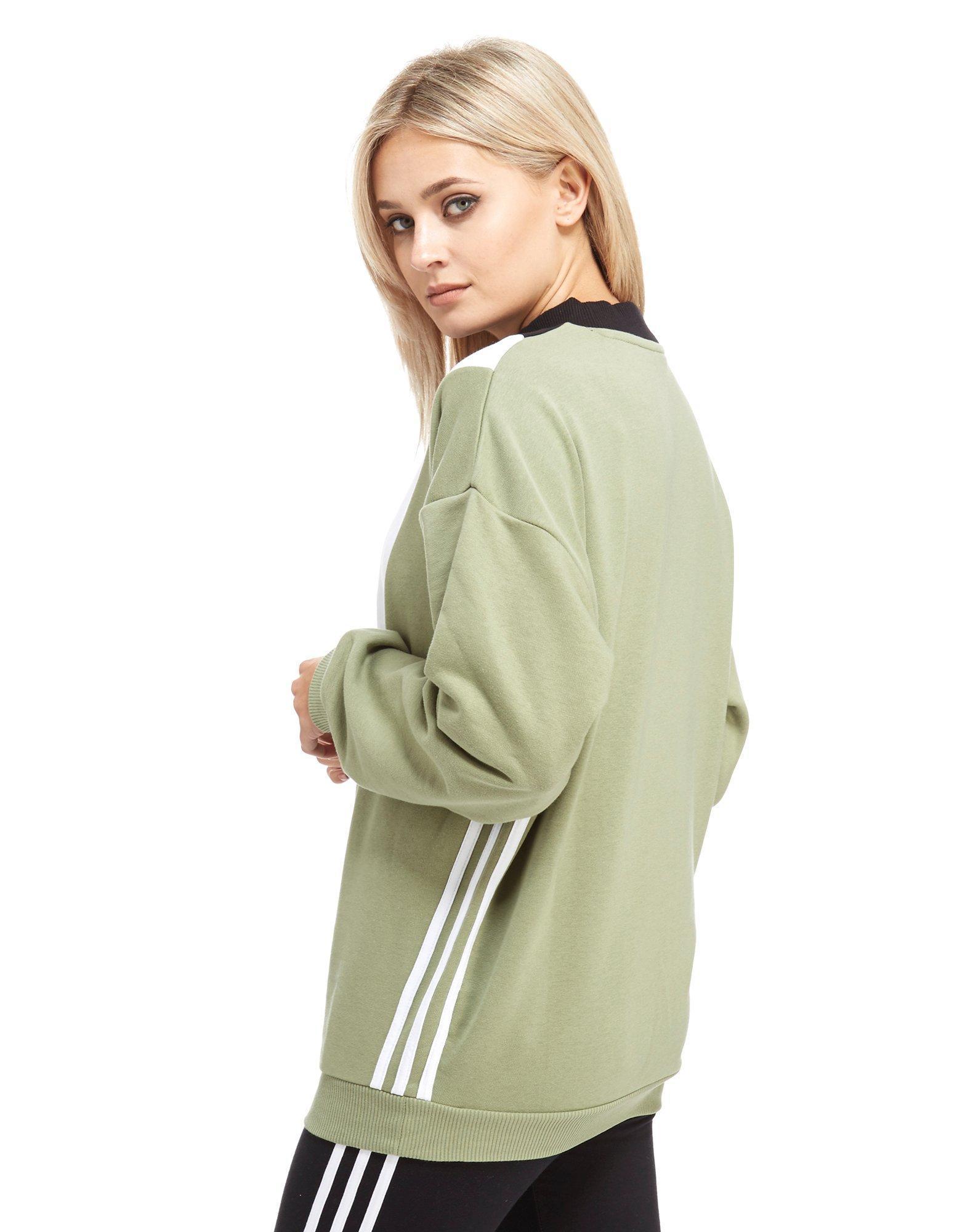 Adidas Originals Adidas Chevron Sweatshirt Multicolor Originals BWEQdCexro