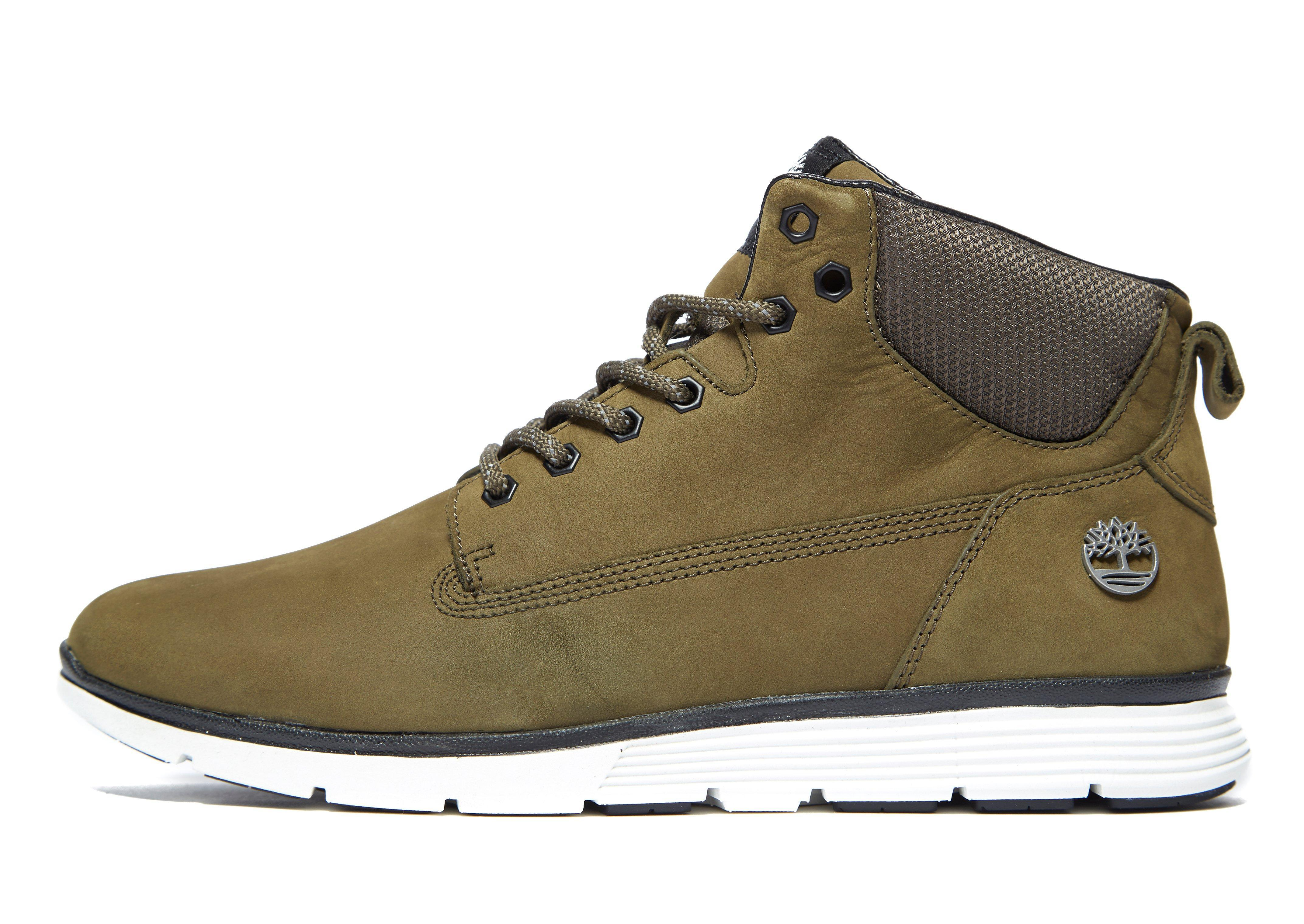 Timberland Leather Killington In Olive White Green For