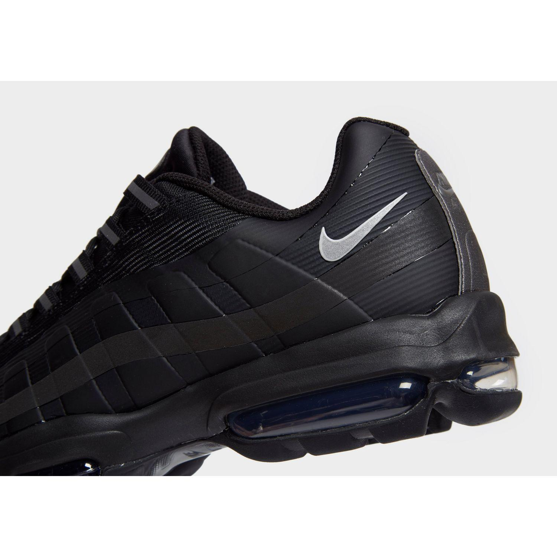 wholesale dealer 0cb95 562f9 Men's Black Air Max 95 Ultra Se