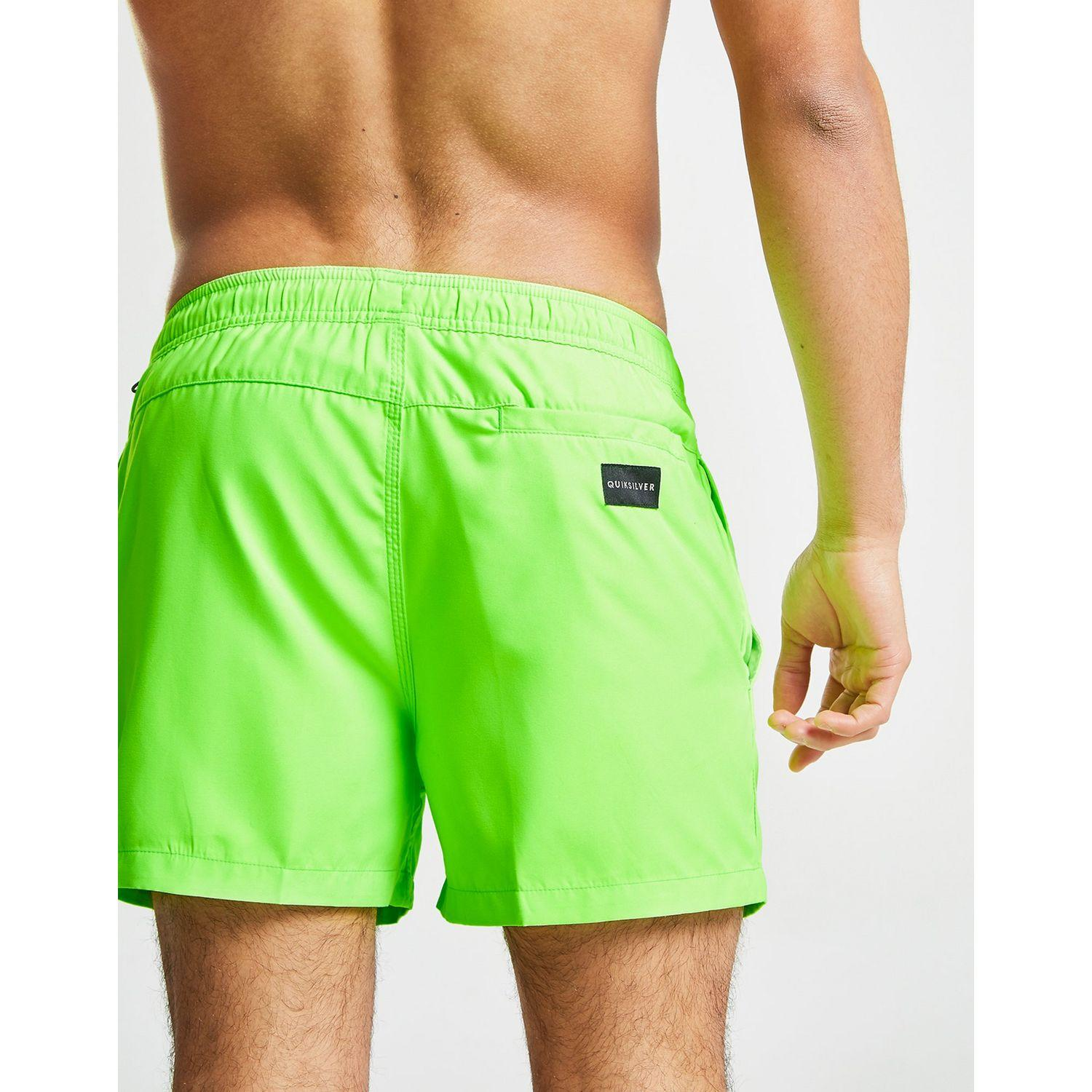Quiksilver Synthetic Everyday Swim Shorts in Green/Black