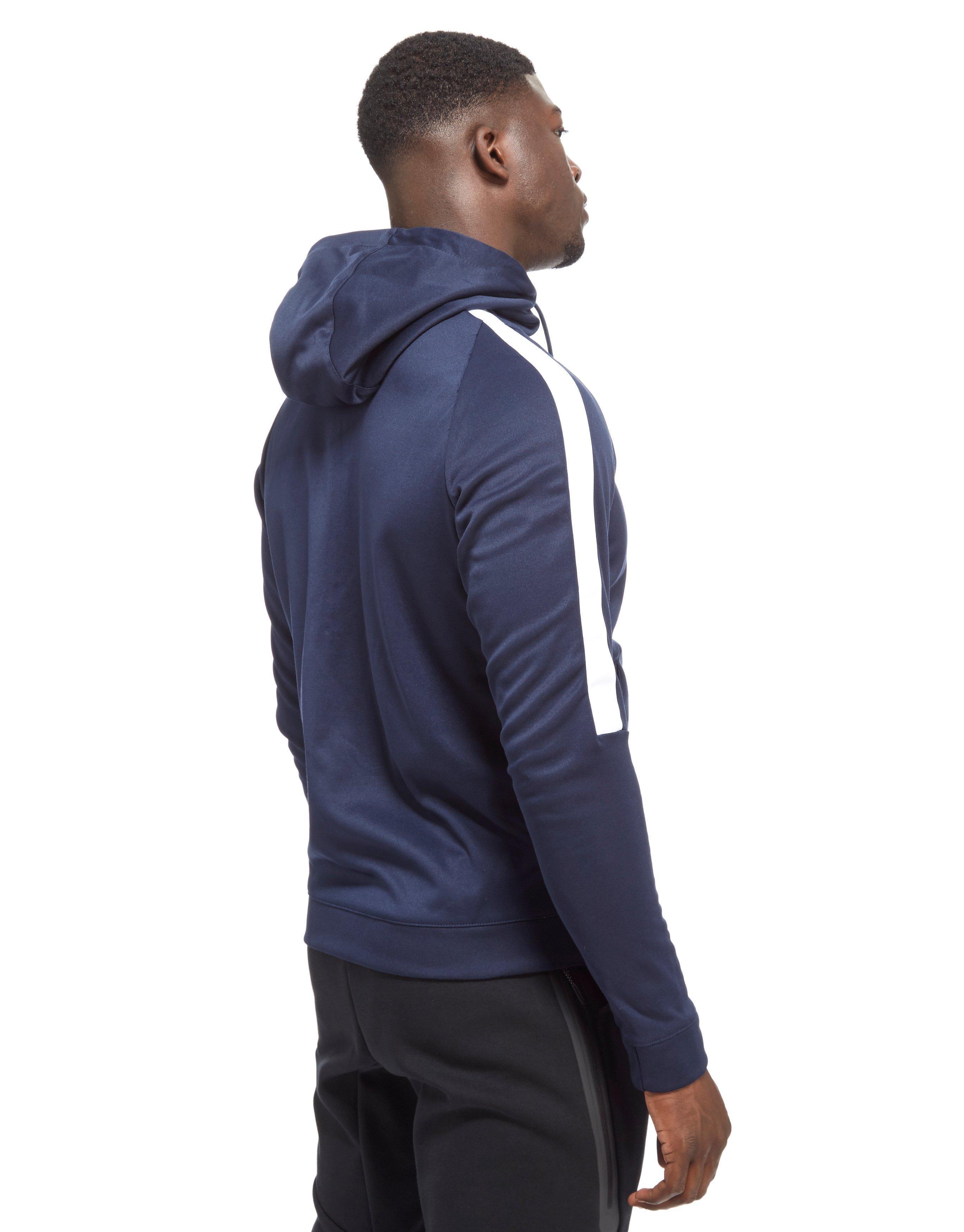 5d19842254c5 Nike Tribute Full Zip Poly Hoodie in Blue for Men - Lyst