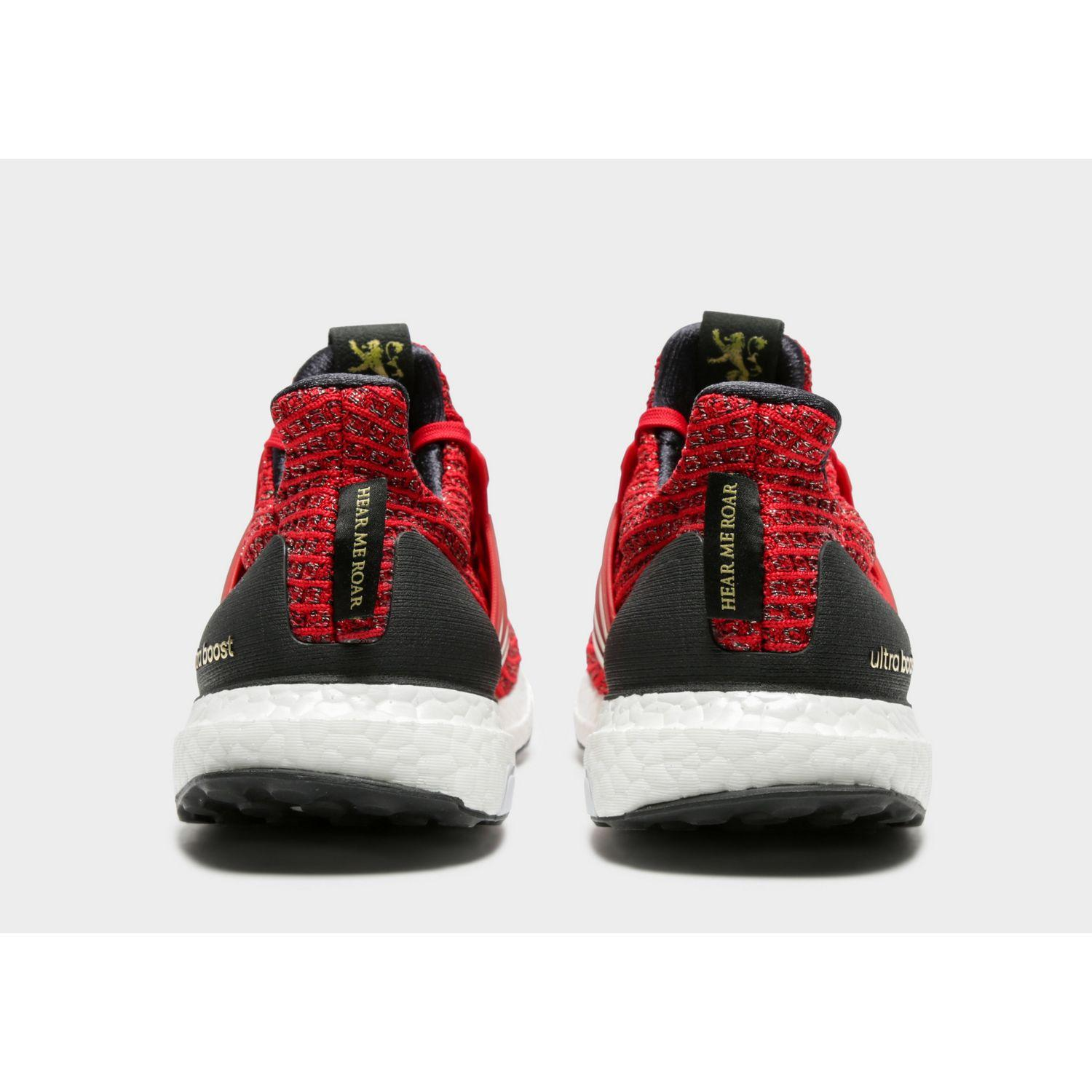 e615cc248ed Adidas - Red Ultraboost X Game Of Thrones Shoes for Men - Lyst. View  fullscreen