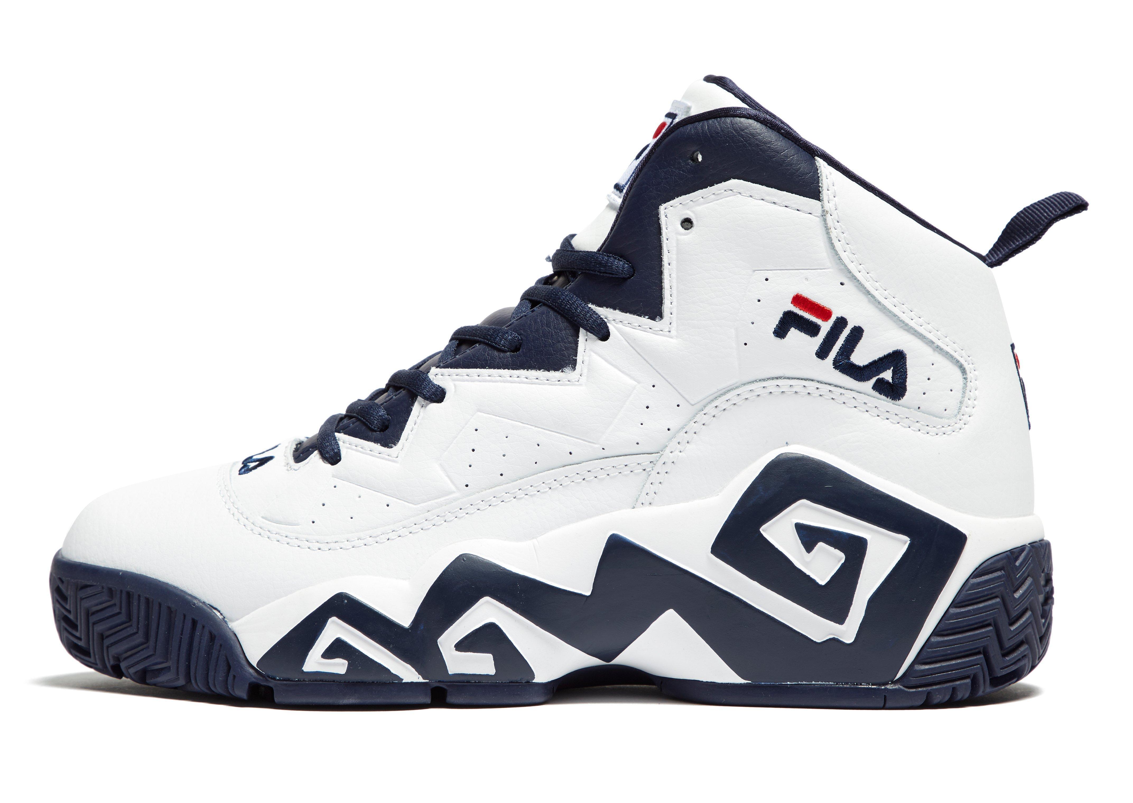 Fila Basketball Shoes Blue