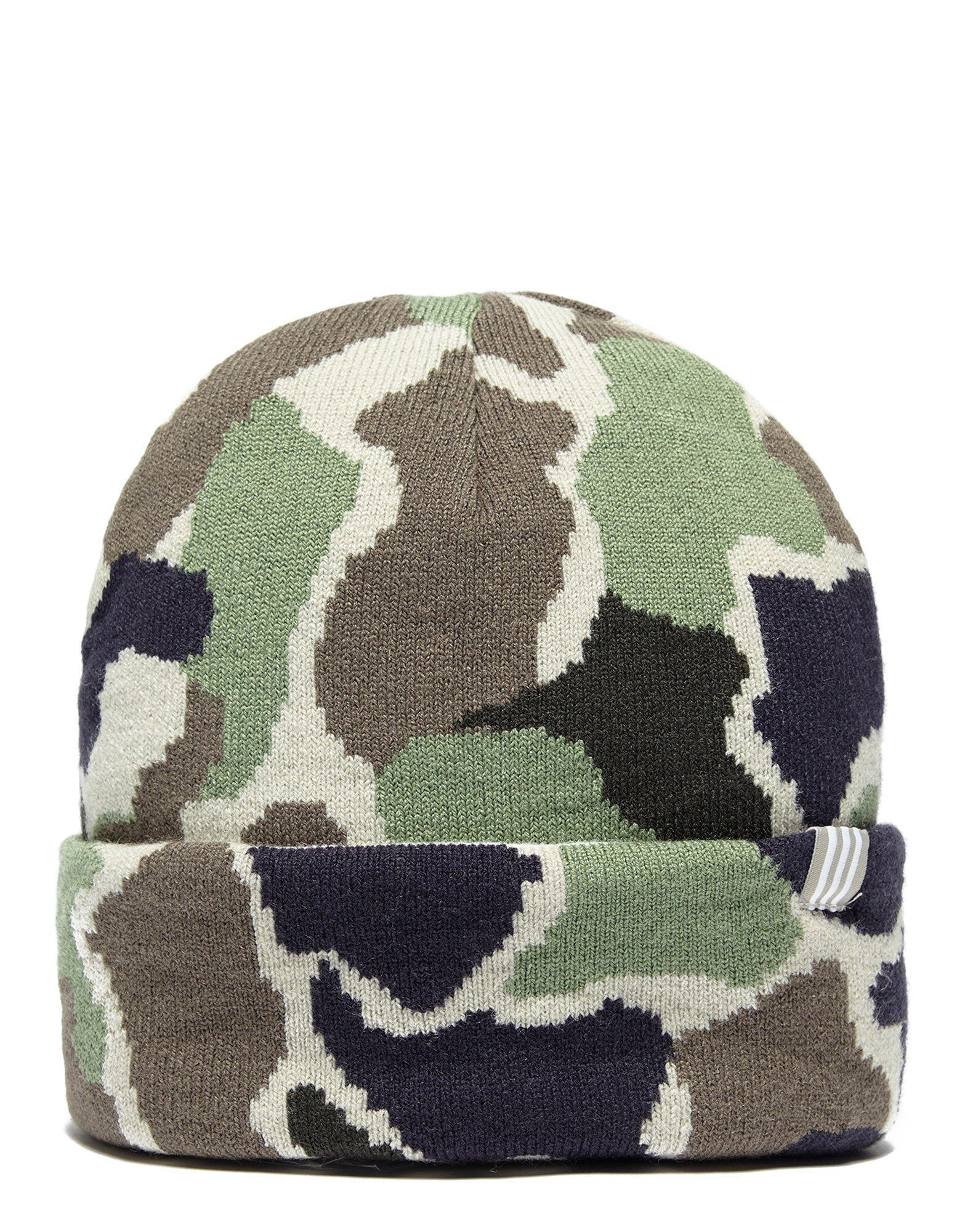 Lyst - adidas Originals Camo Beanie Hat for Men 361139985c2